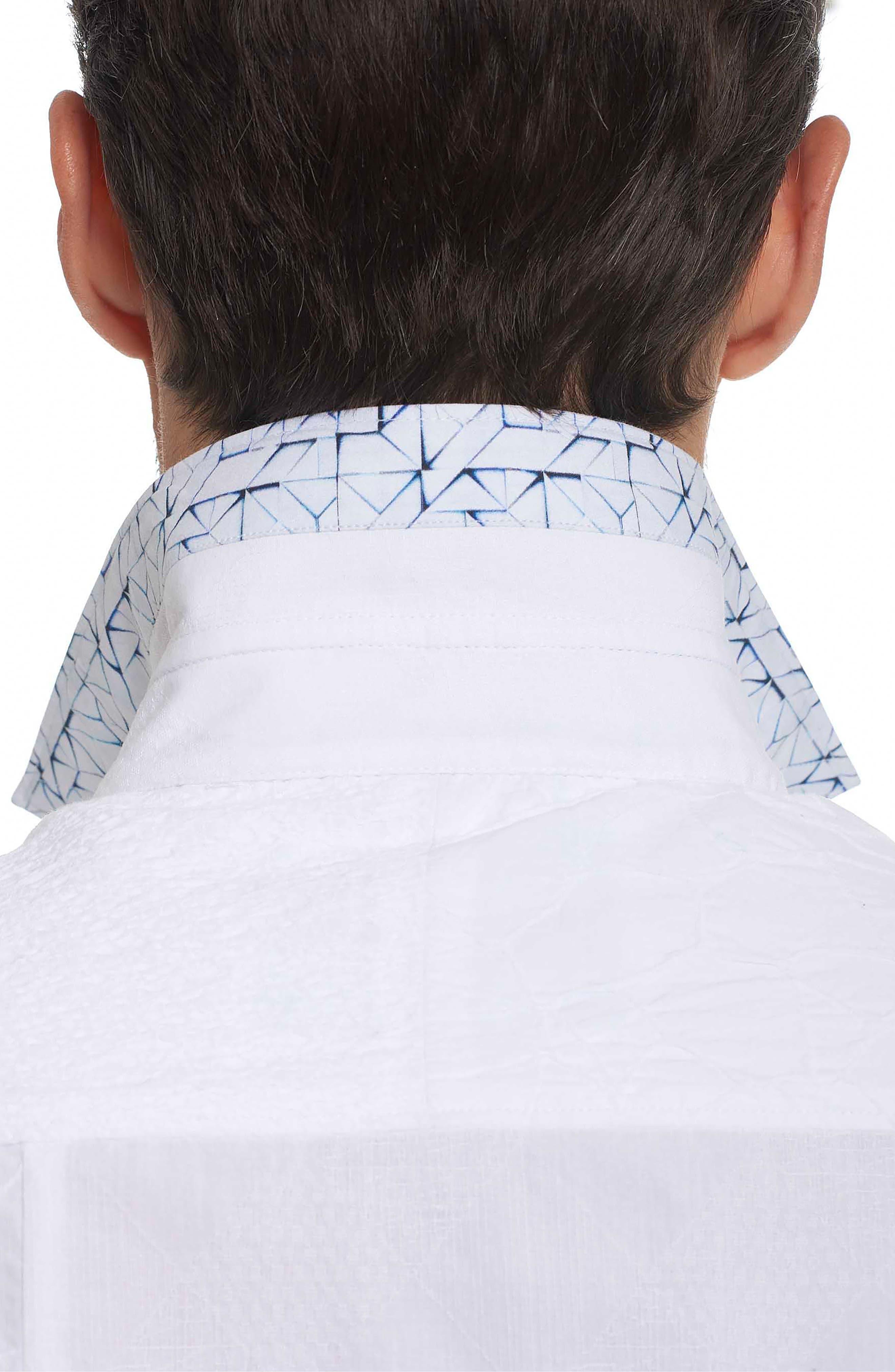 Duke Classic Fit Sport Shirt,                             Alternate thumbnail 2, color,                             White