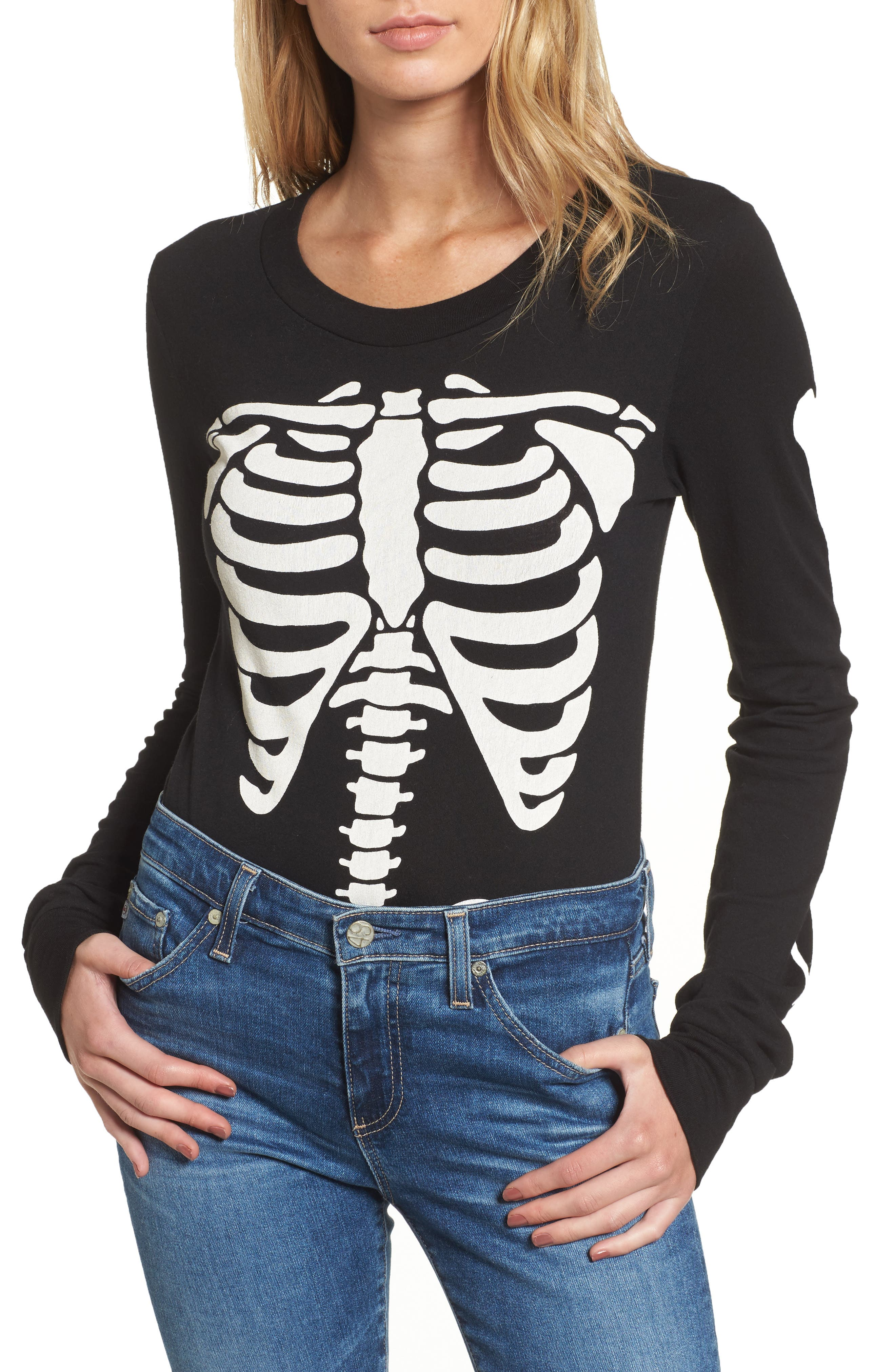 X-Ray Vision Bodysuit,                             Main thumbnail 1, color,                             Black