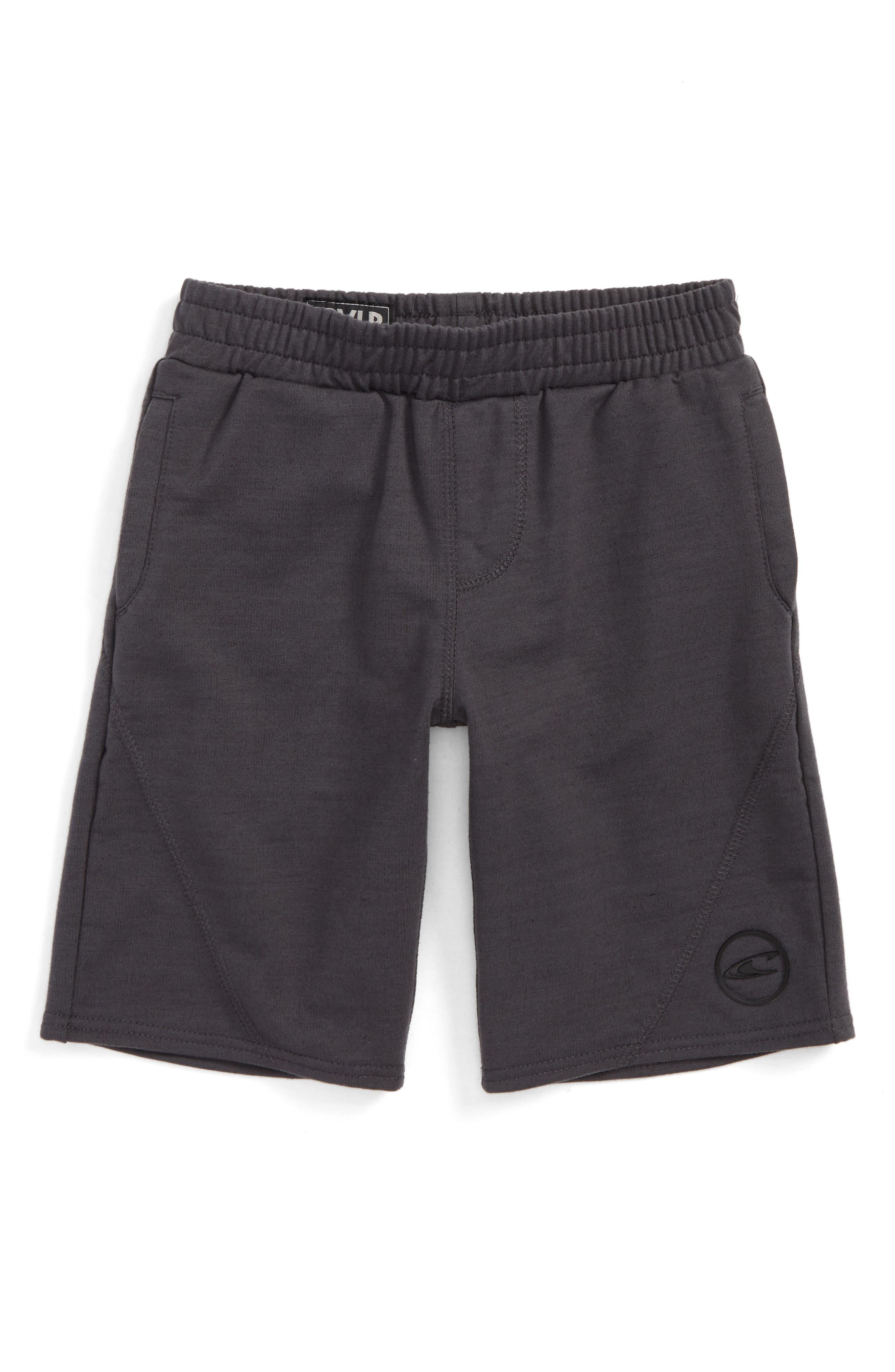 Traveler Knit Shorts,                         Main,                         color, Asphalt