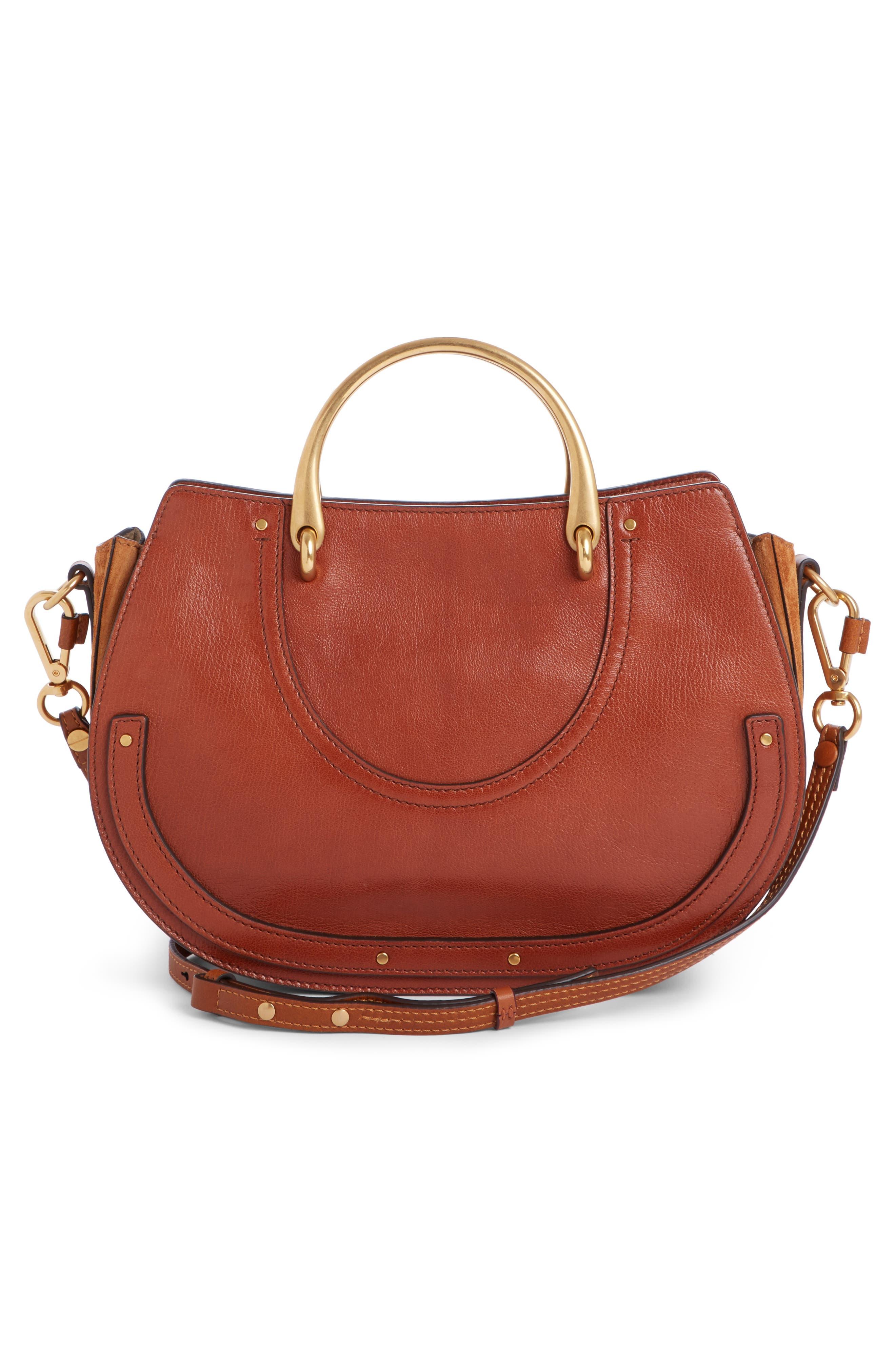 Alternate Image 2  - Chloé Medium Pixie Top Handle Leather Satchel