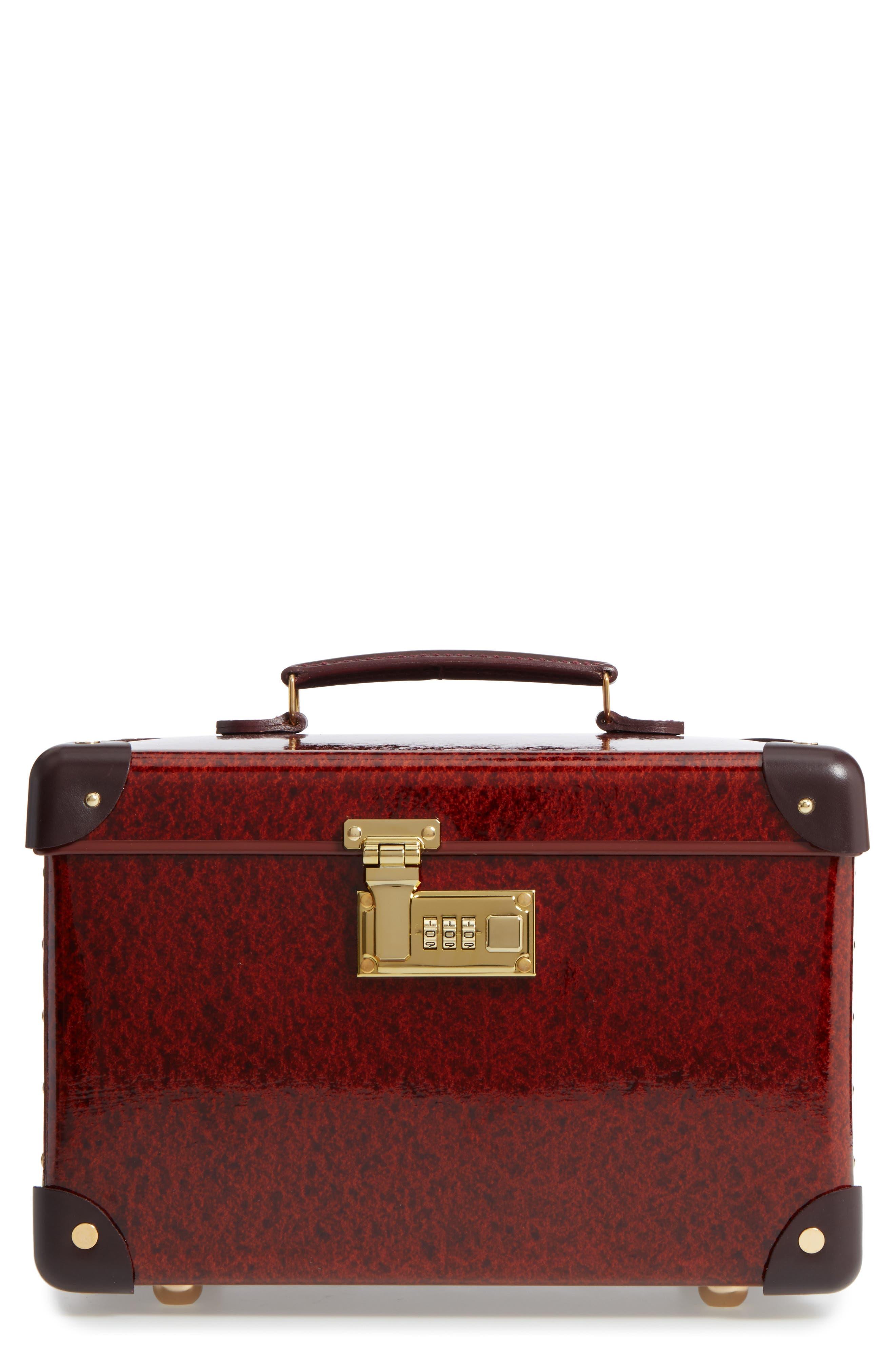 Orient 13-Inch Hardshell Vanity Case,                         Main,                         color, Urushi/ Burgundy