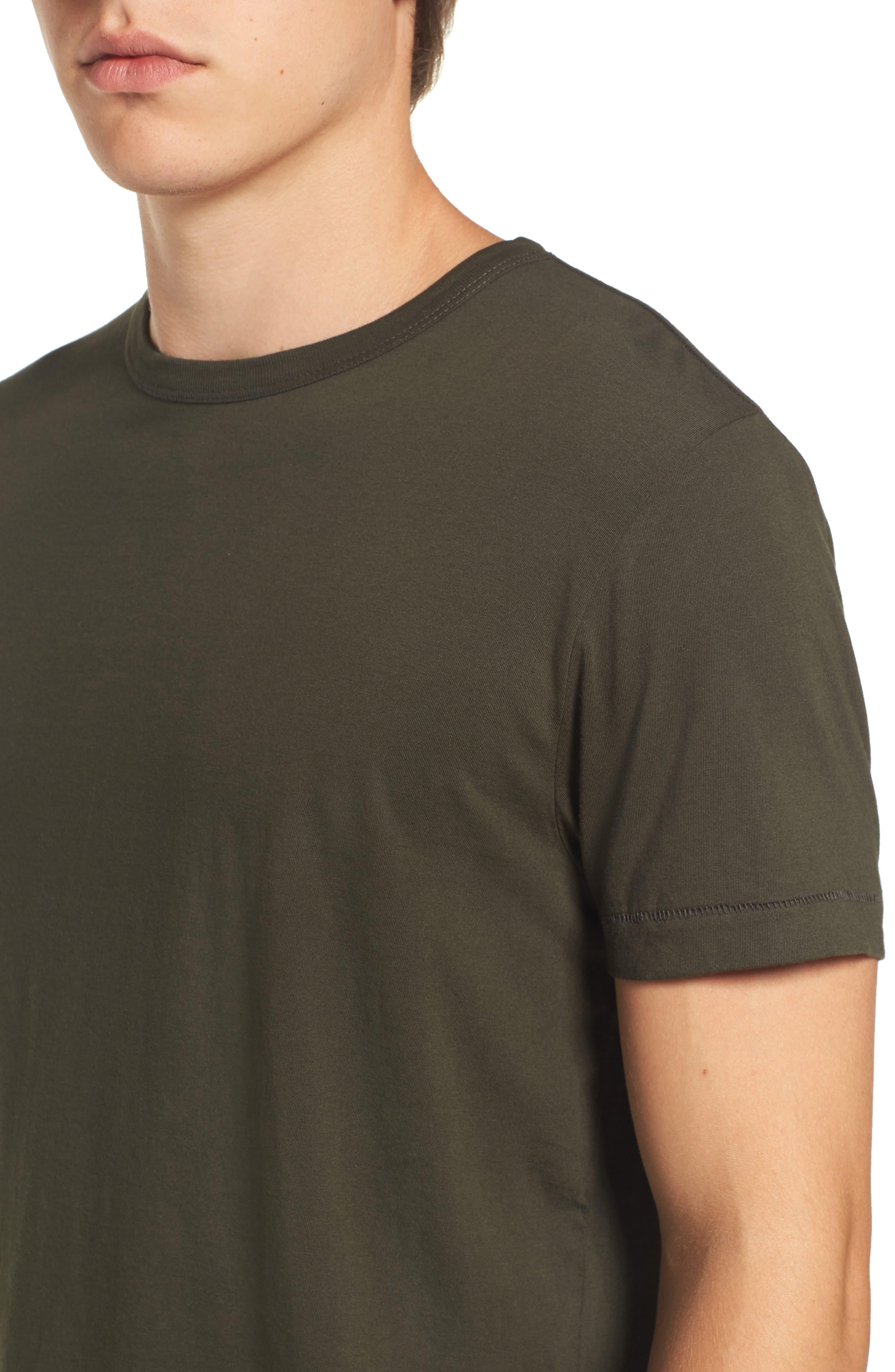 Alternate Image 4  - French Connection Slim Fit Crewneck T-Shirt