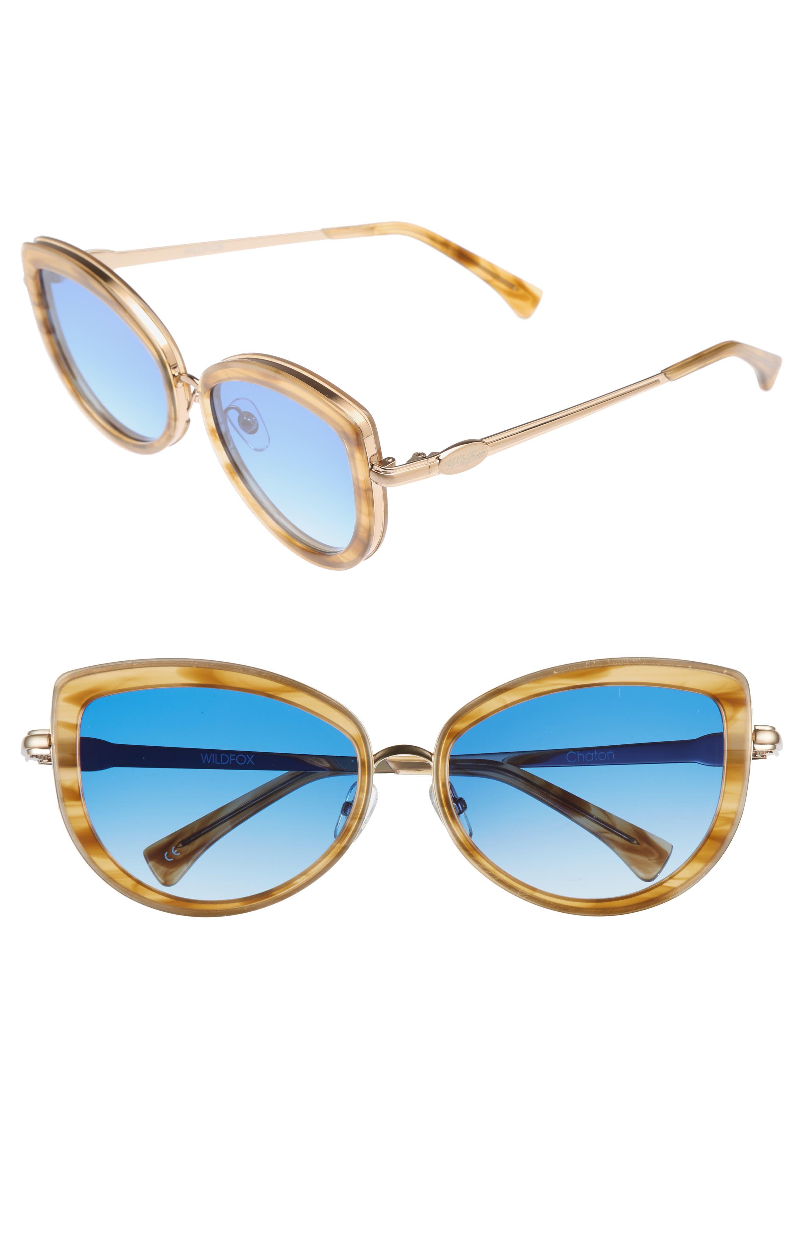 Wildfox Chaton 54mm Sunglasses