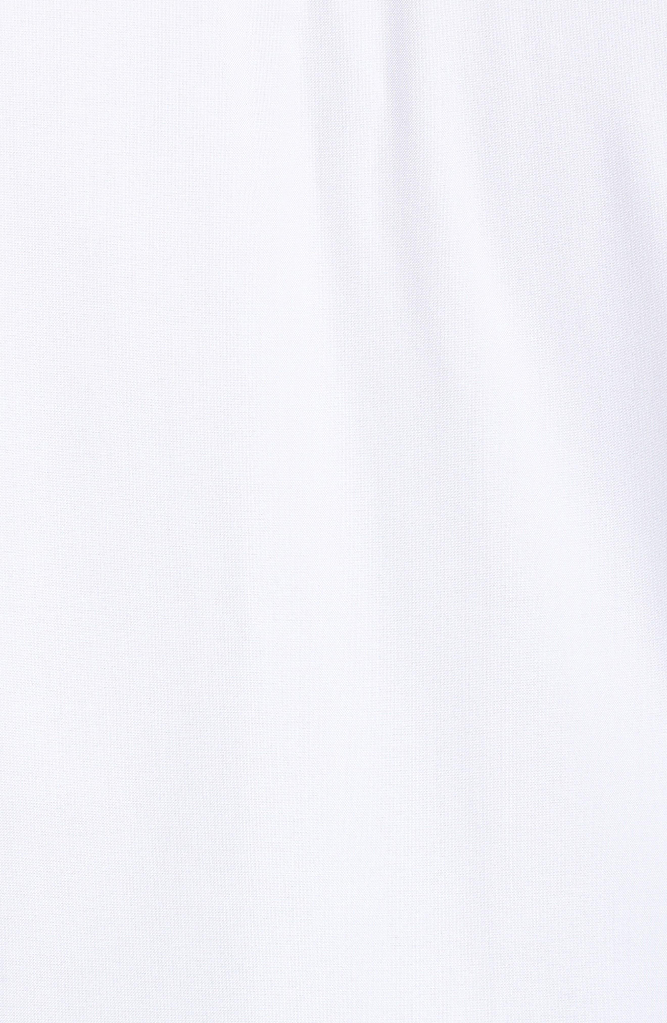 Alternate Image 5  - Foxcroft Rita Solid Stretch Cotton Top (Plus Size)