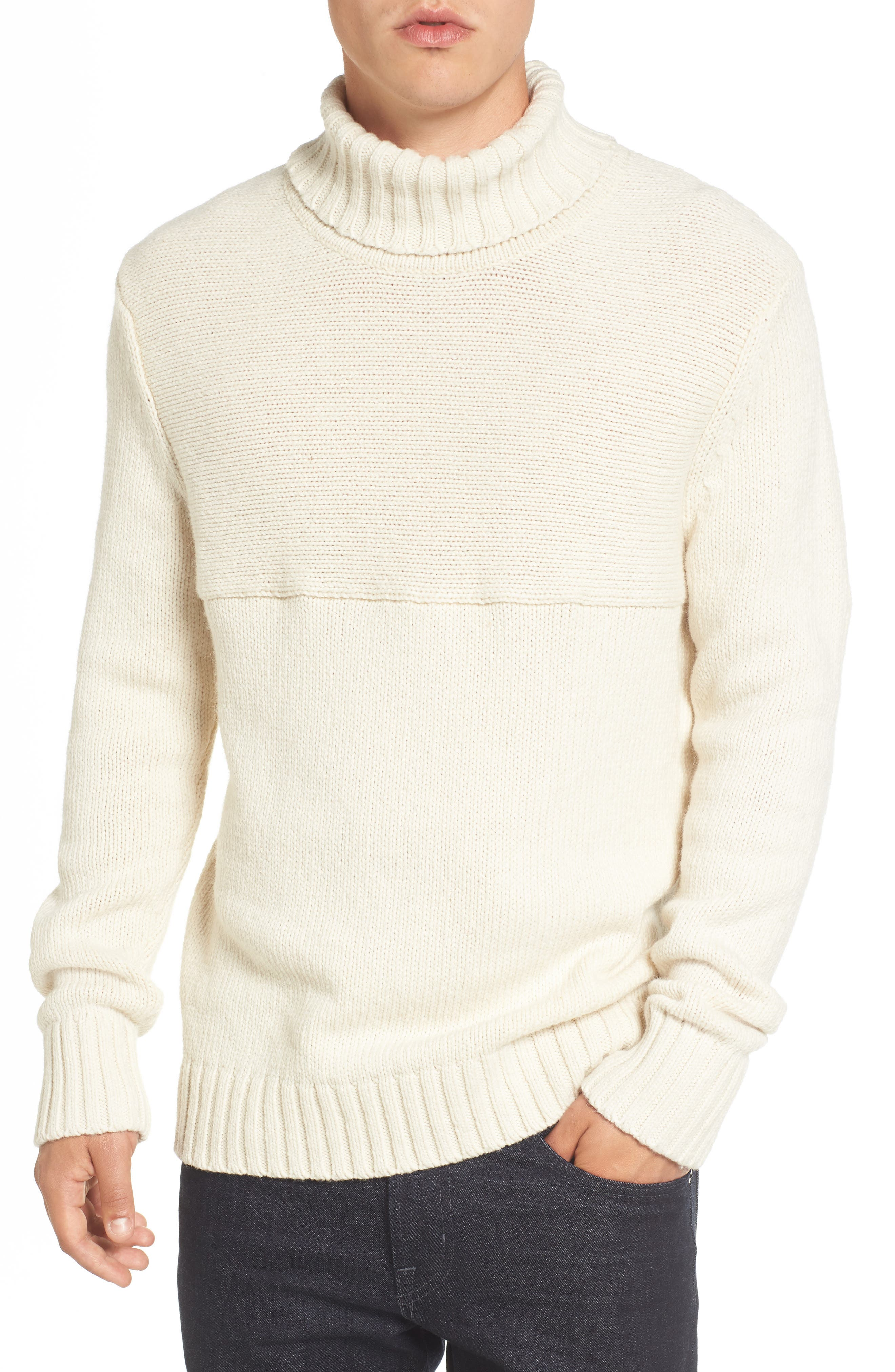 French Connection Ribbed Turtleneck Sweater