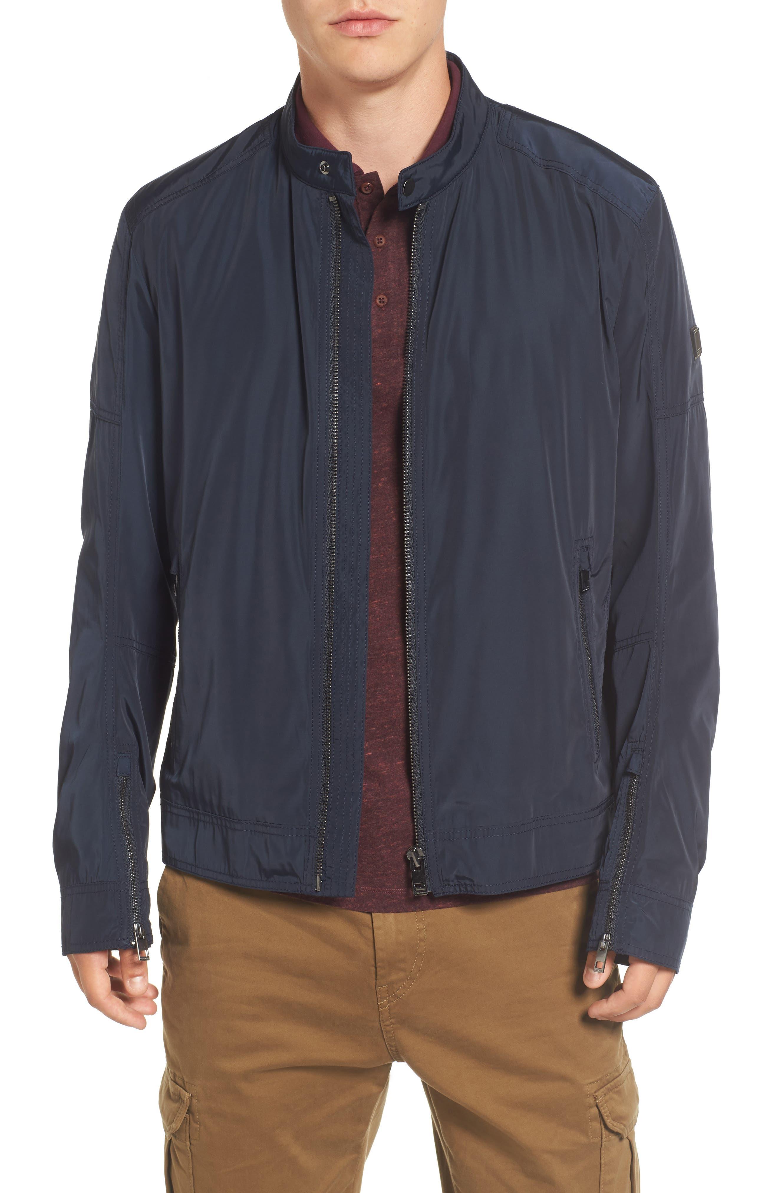 Main Image - BOSS Orange Olawton Moto Jacket