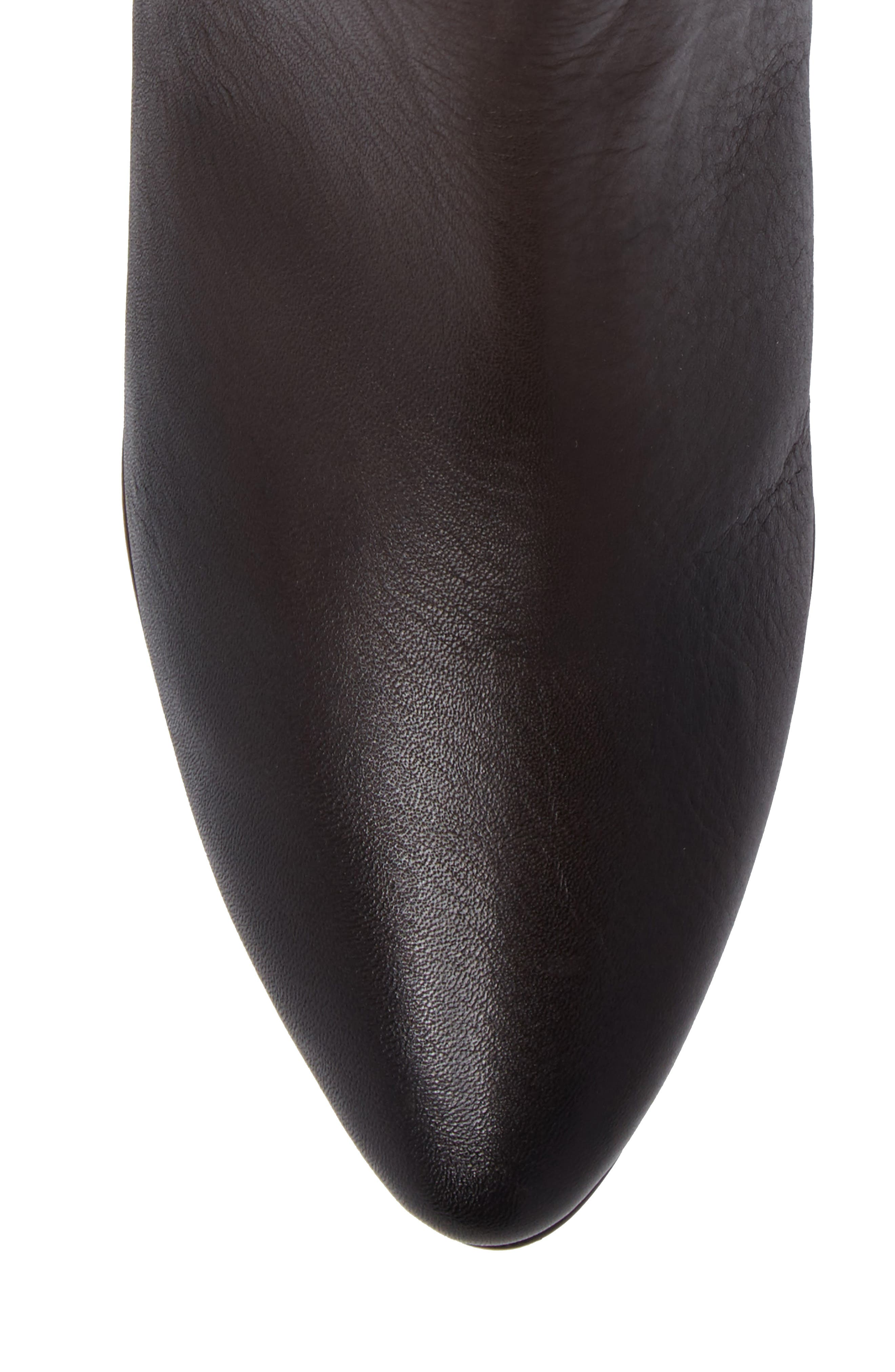 Newbury Bootie,                             Alternate thumbnail 5, color,                             Chocolate Leather