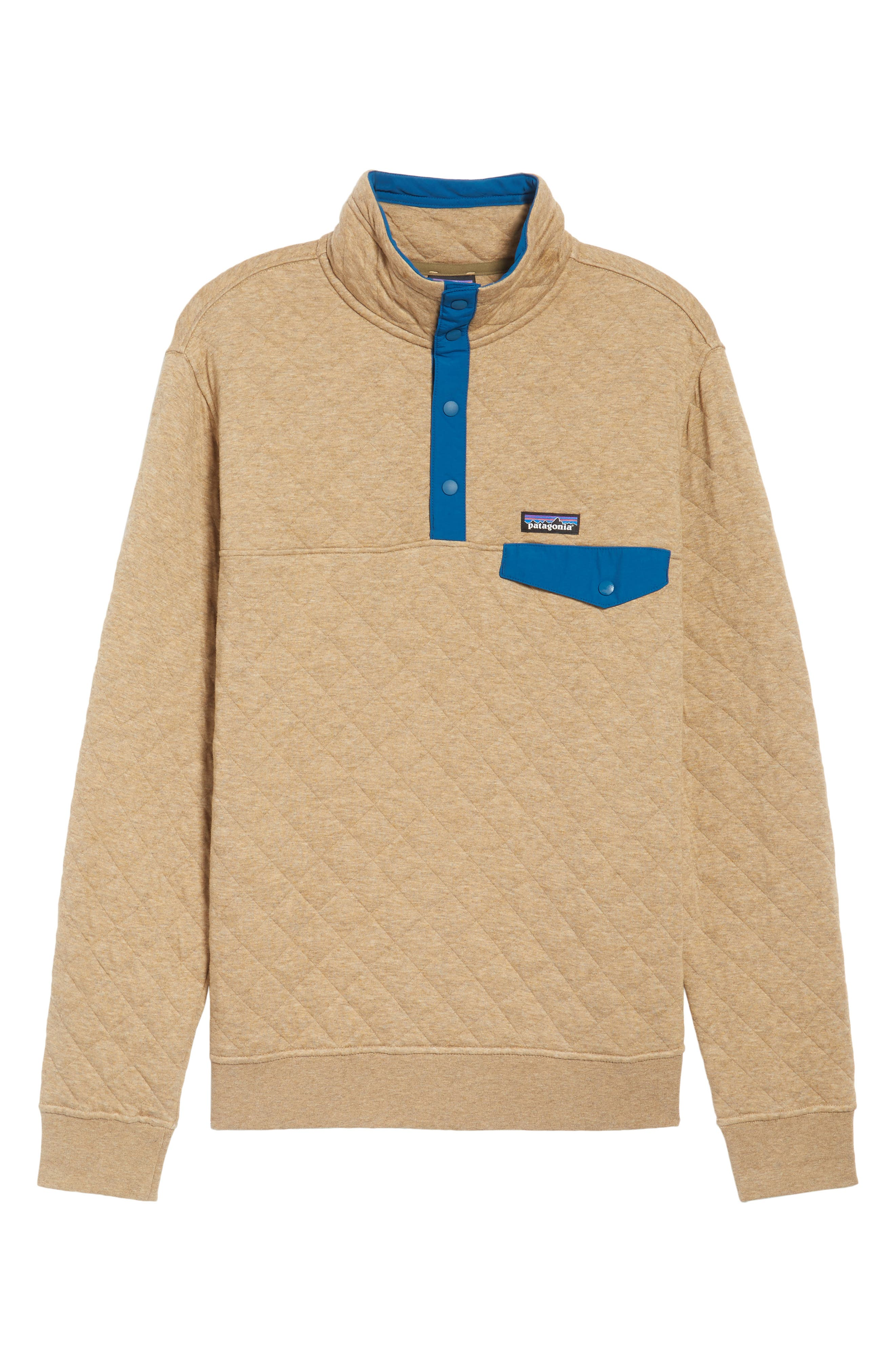 Alternate Image 6  - Patagonia Snap-T® Quilted Fleece Pullover