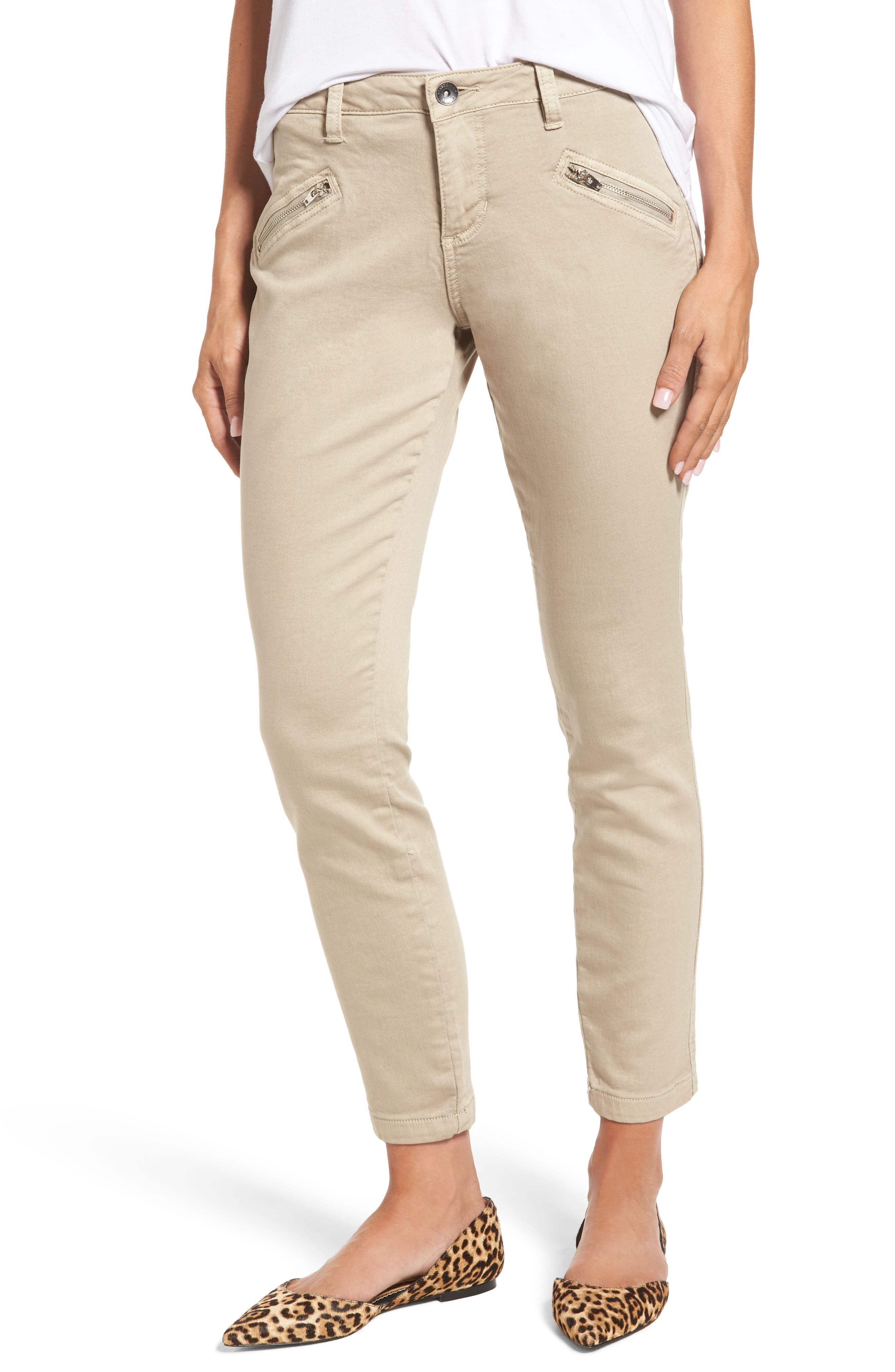 Ryan Knit Skinny Jeans,                             Main thumbnail 1, color,                             Birchwood