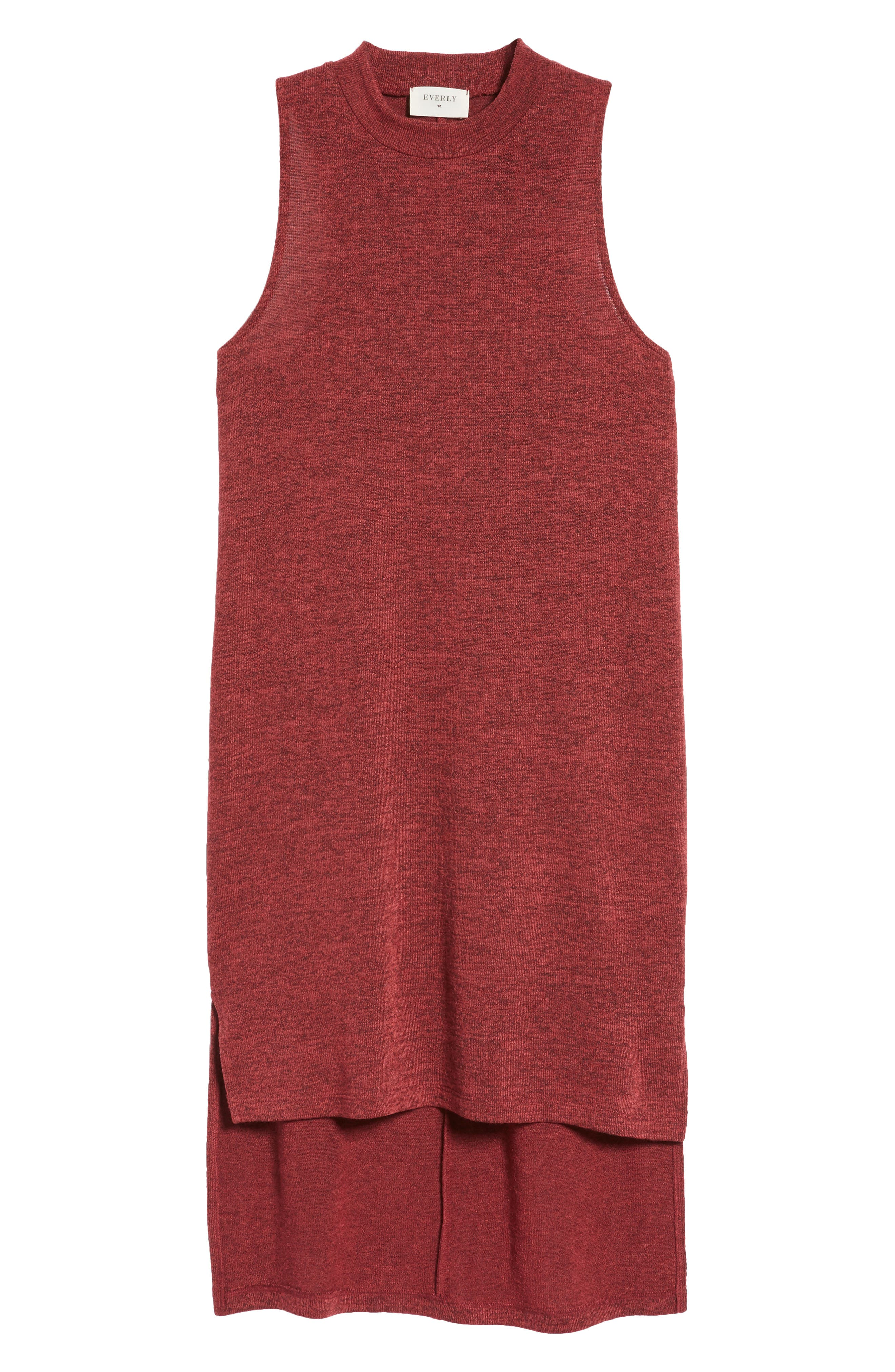 Alternate Image 6  - Everly Mock Neck Sleeveless Midi Dress