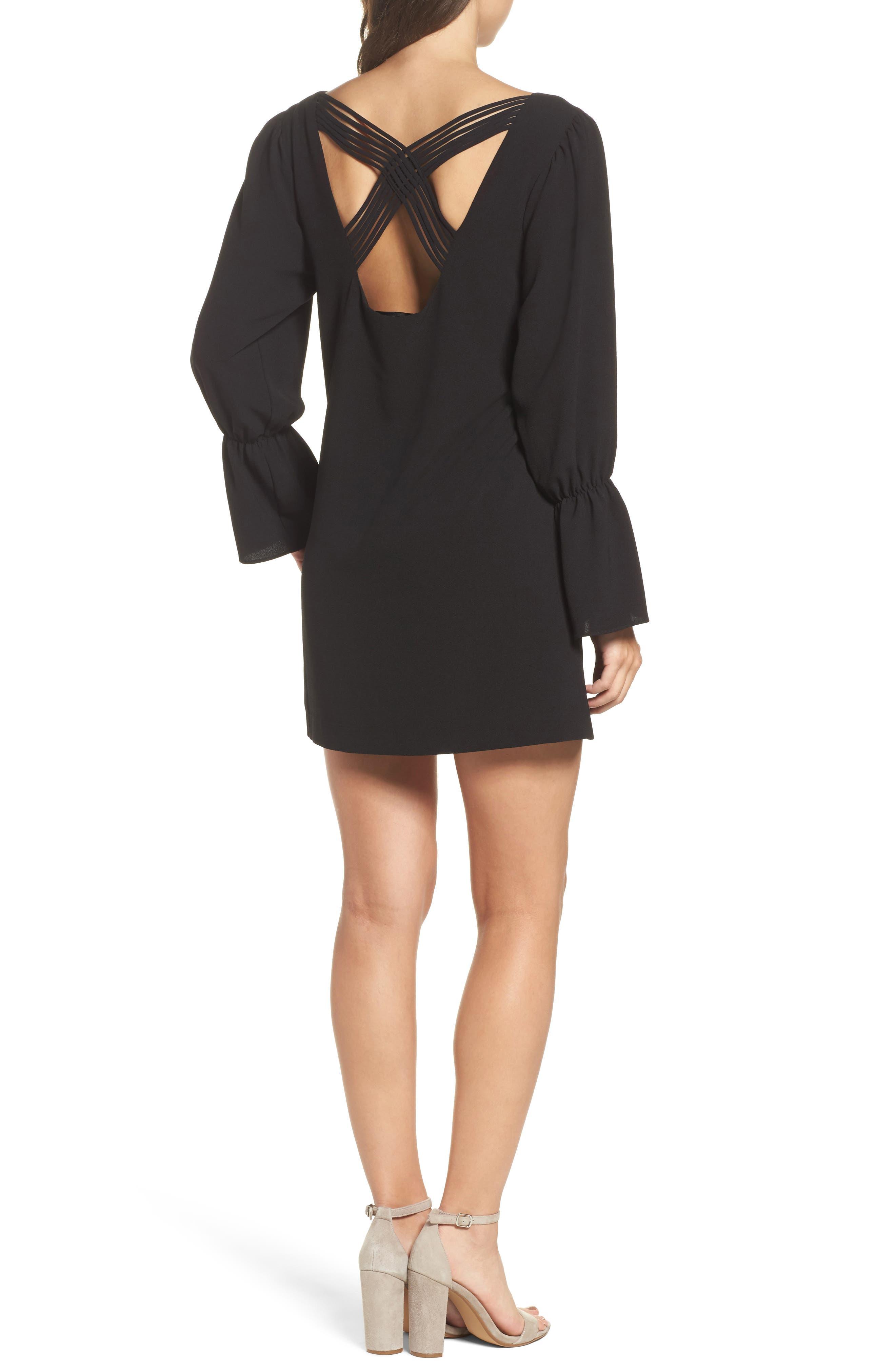 Alternate Image 2  - Felicity & Coco Farrah Cross Back Minidress (Nordstrom Exclusive)