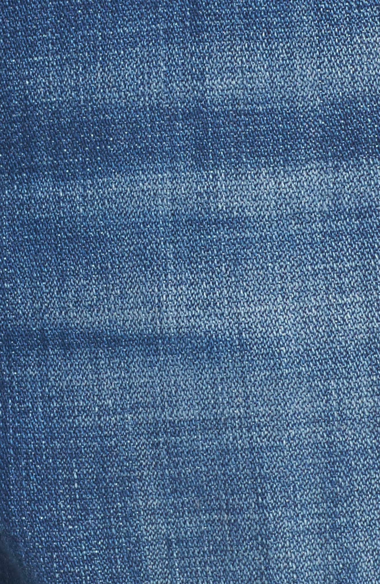 Josefina Boyfriend Jeans,                             Alternate thumbnail 6, color,                             Boyd Blue 2