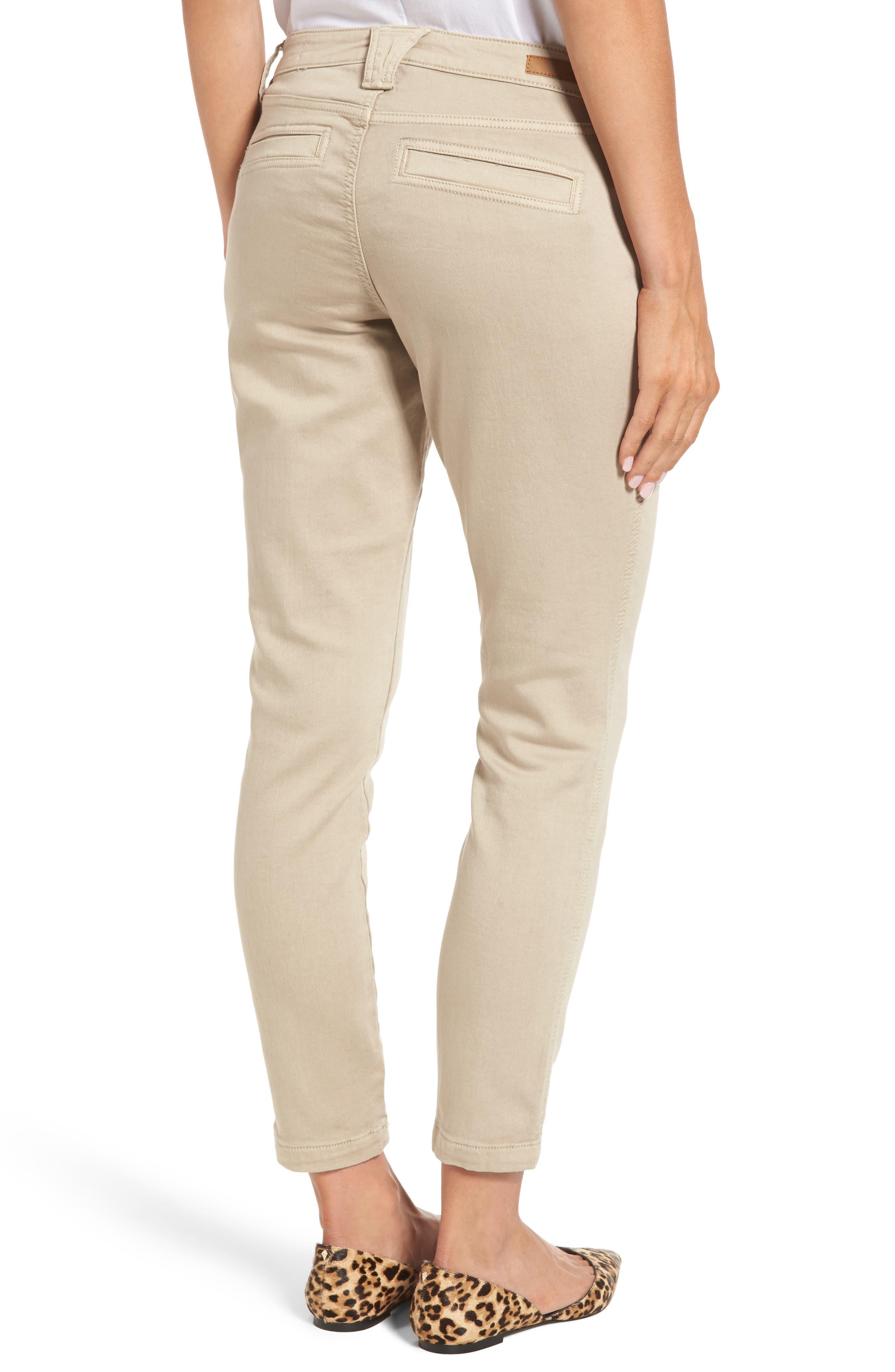 Ryan Knit Skinny Jeans,                             Alternate thumbnail 2, color,                             Birchwood