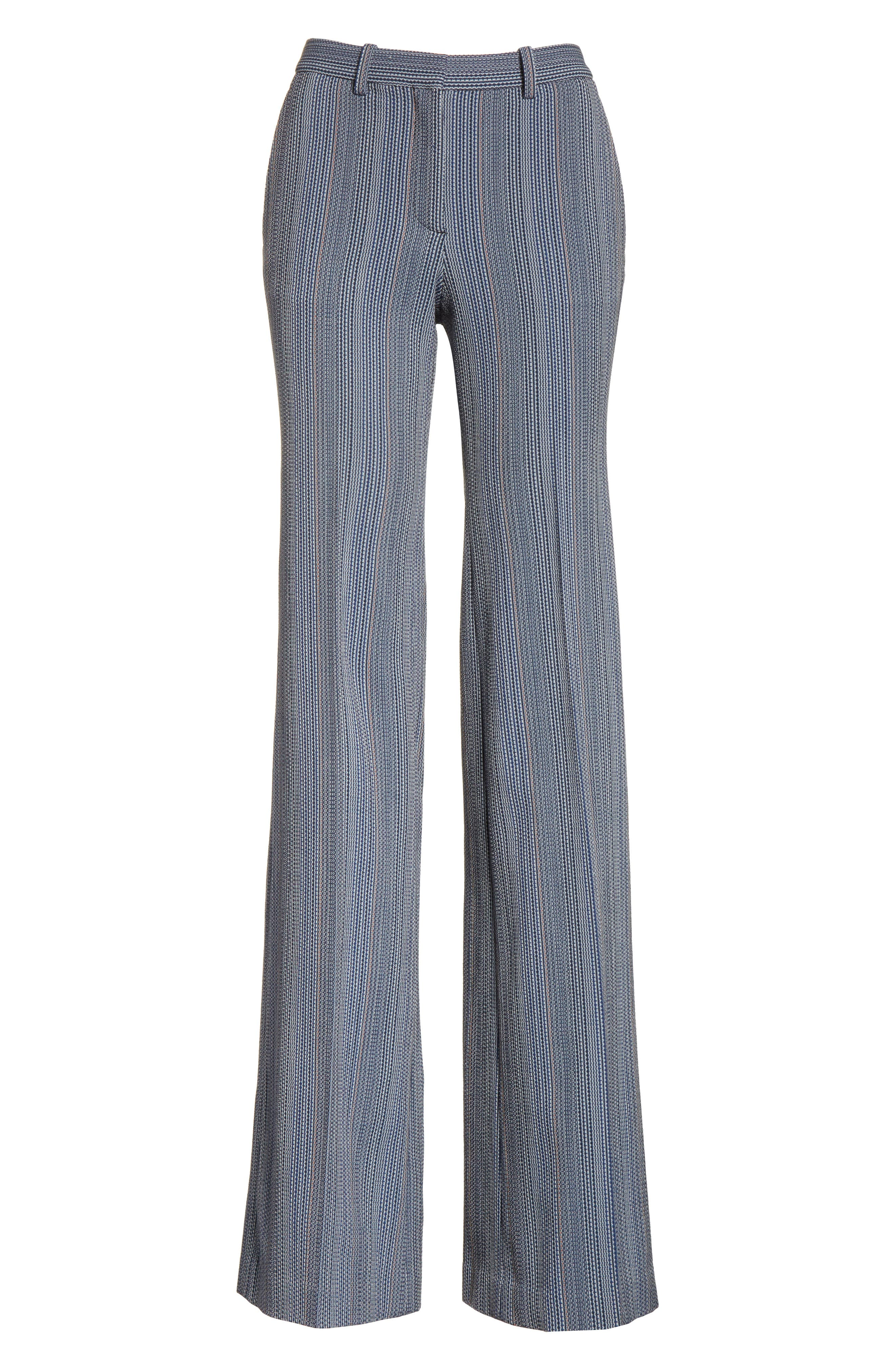 Demitria 2 Eldora Stripe Pants,                             Alternate thumbnail 6, color,                             Indigo Multi