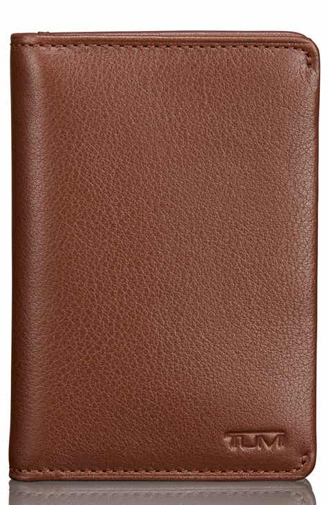 Mens card cases wallets nordstrom tumi leather card case colourmoves