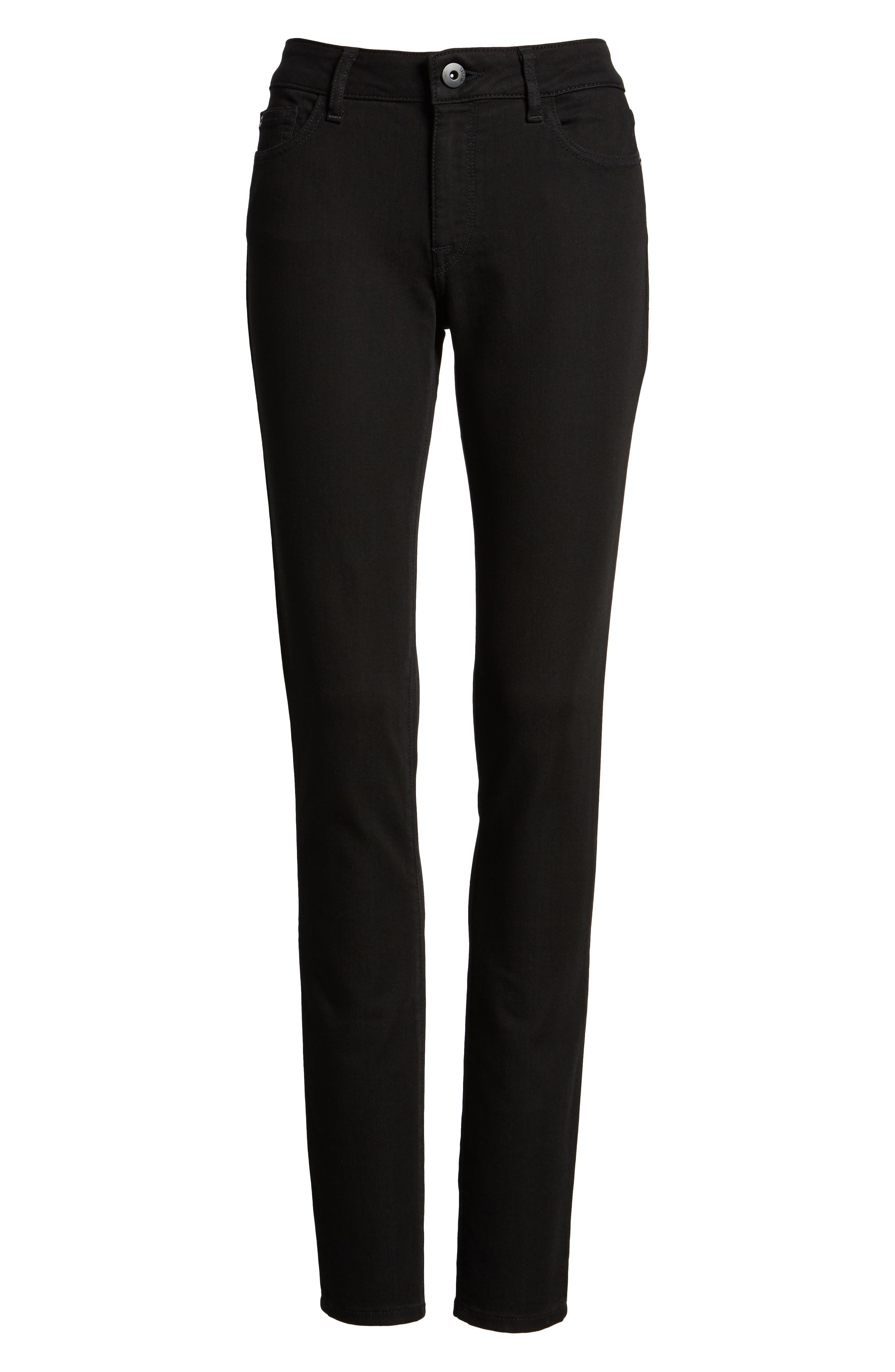 Alternate Image 6  - DL1961 'Danny' Instasculpt Skinny Jeans (Long)