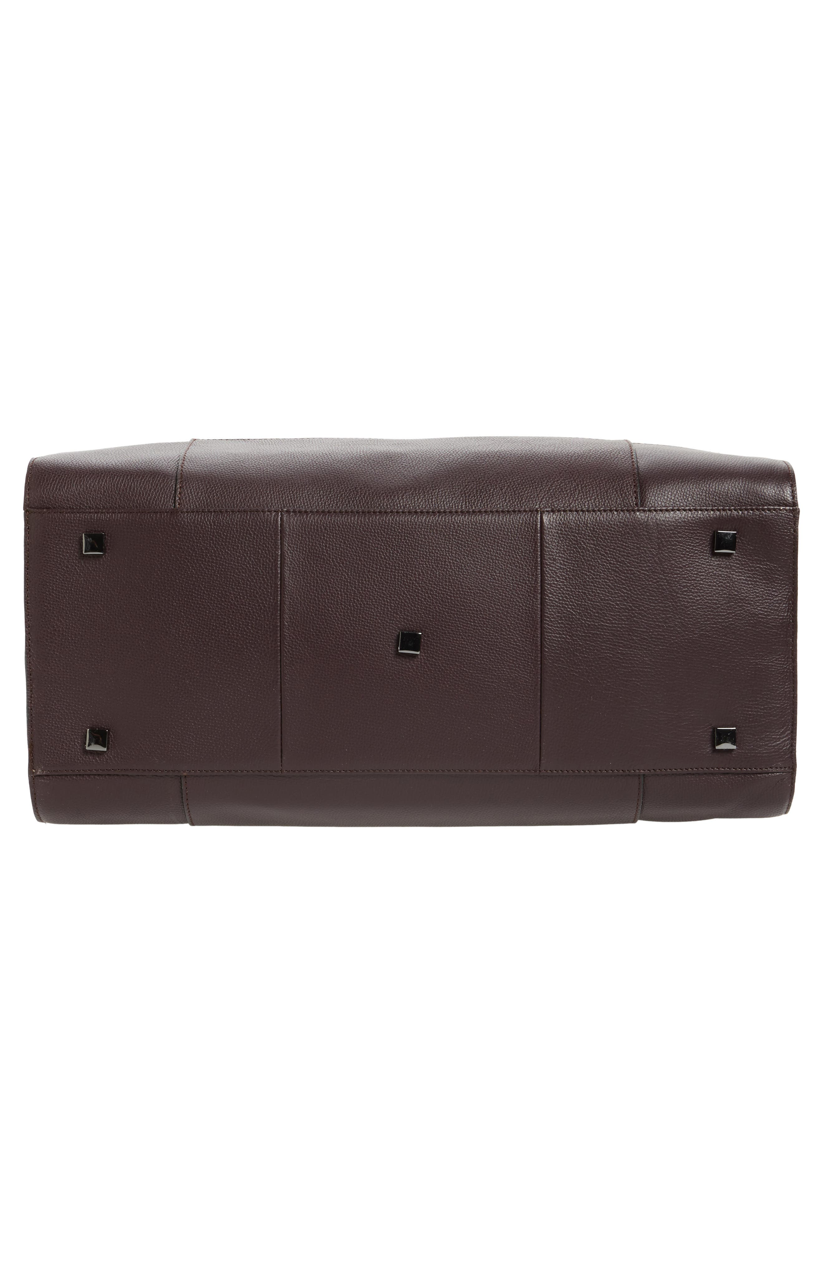 Alternate Image 6  - Ted Baker London Panthea Leather Duffel Bag