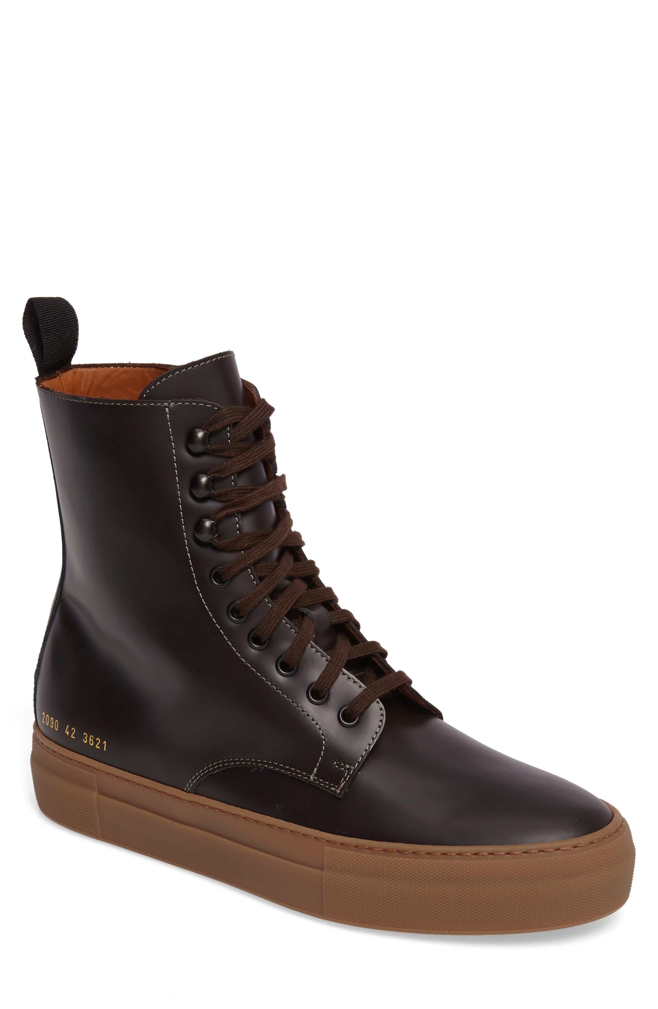 Main Image - Common Projects x Robert Geller Plain Toe Boot (Men)