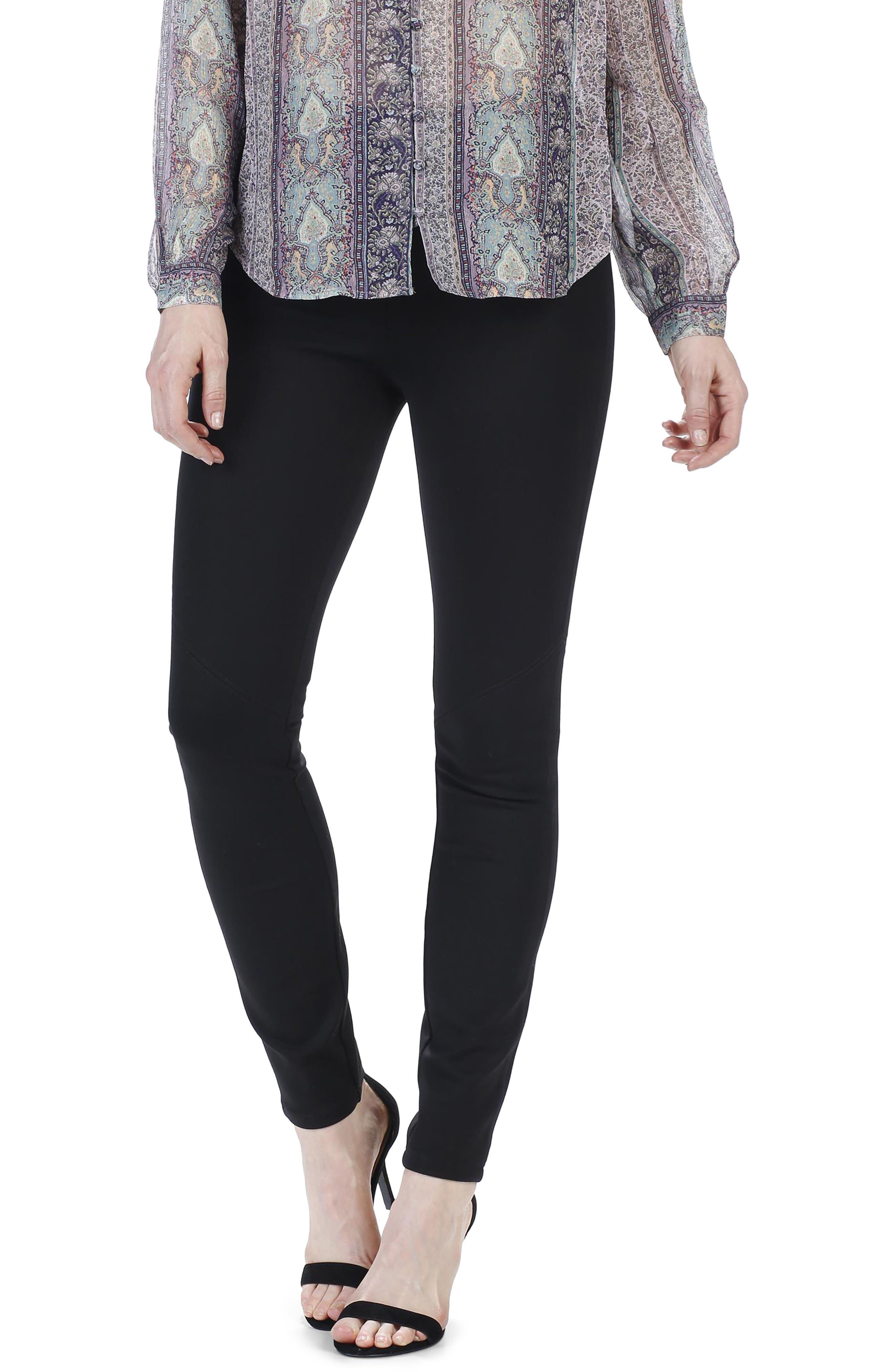 Alternate Image 3  - PAIGE Myla High Waist Skinny Ponte Pants