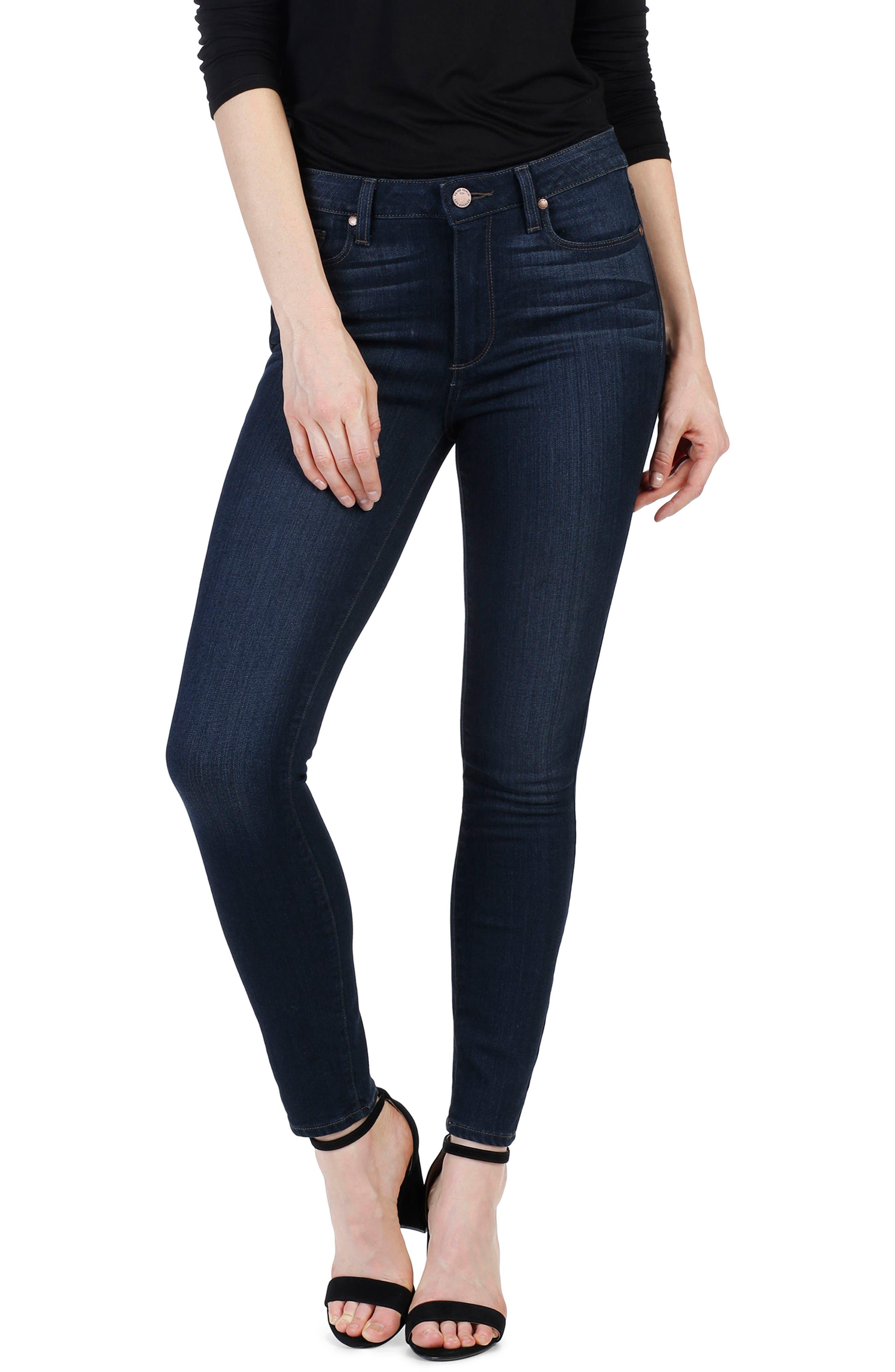 Transcend - Verdugo Ankle Skinny Jeans,                             Alternate thumbnail 3, color,                             Elsie