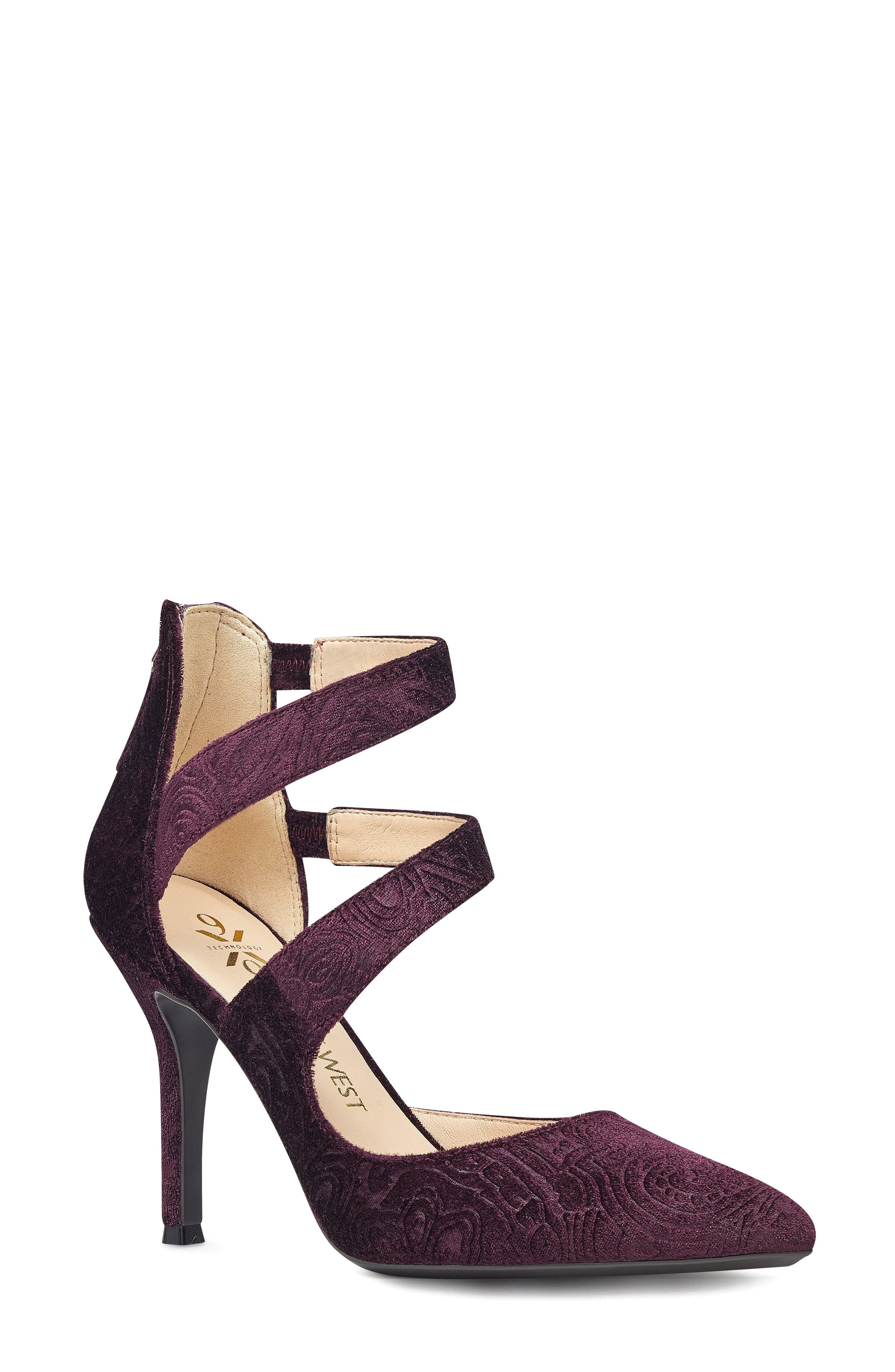 NINE WEST Florent Asymmetrical Strappy Pump