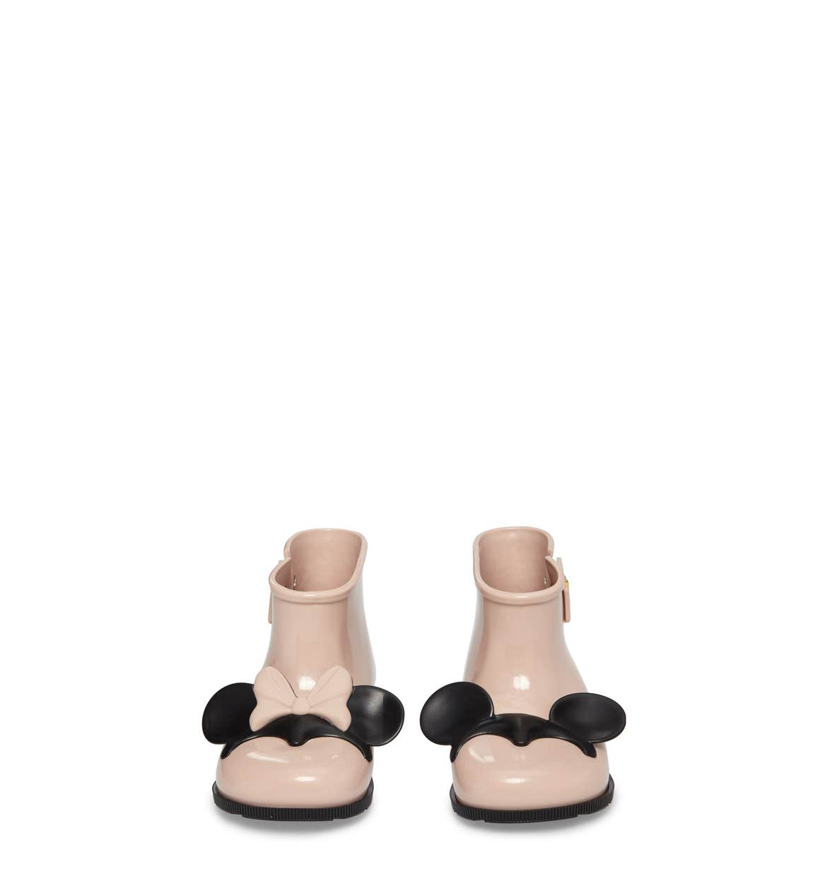 Toddler Girl's Mini Melissa Sugar Rain Disney Twins Bootie, Size 5 M - Pink