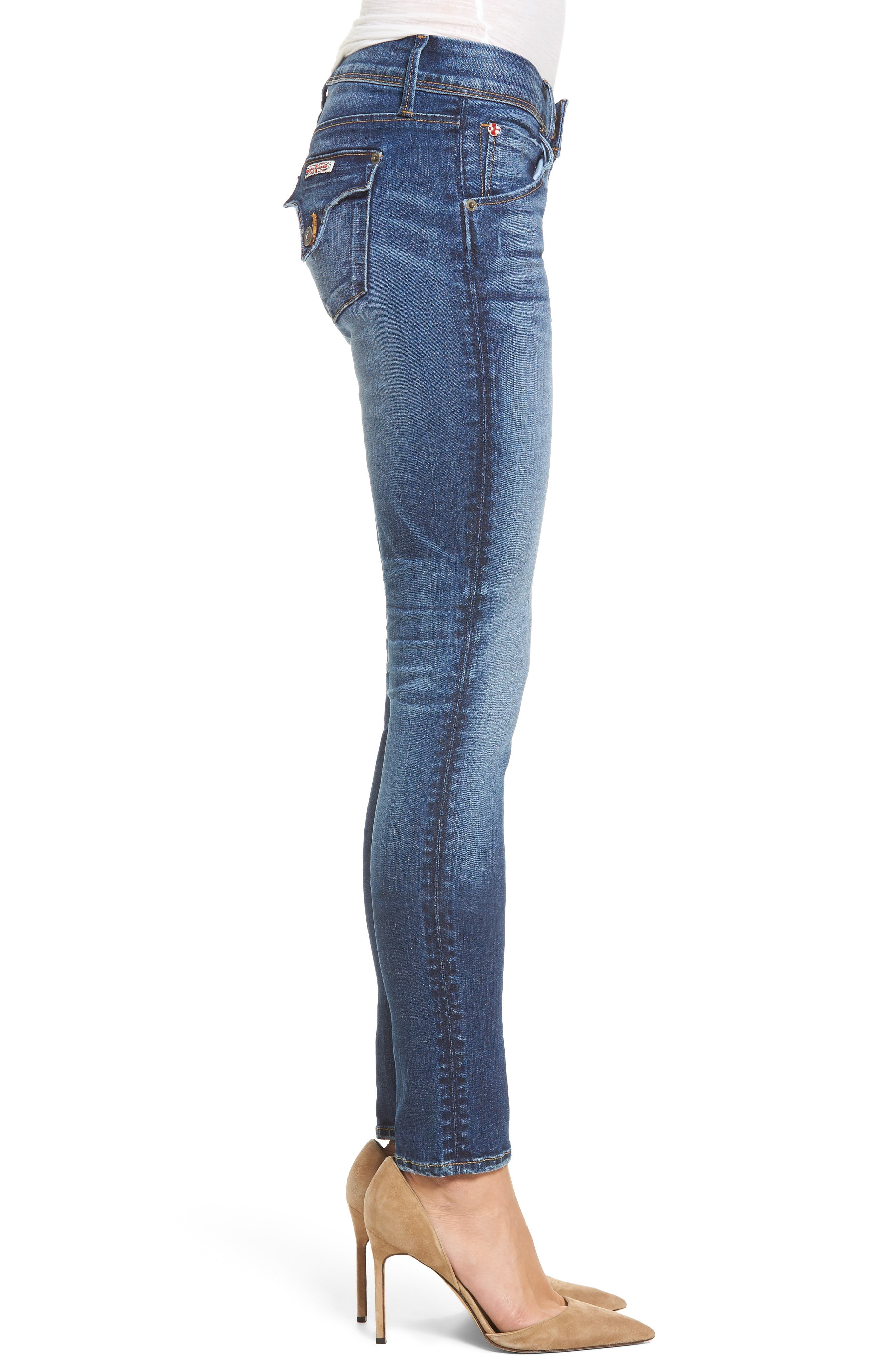 Collin Supermodel Skinny Jeans,                             Alternate thumbnail 3, color,                             Contender