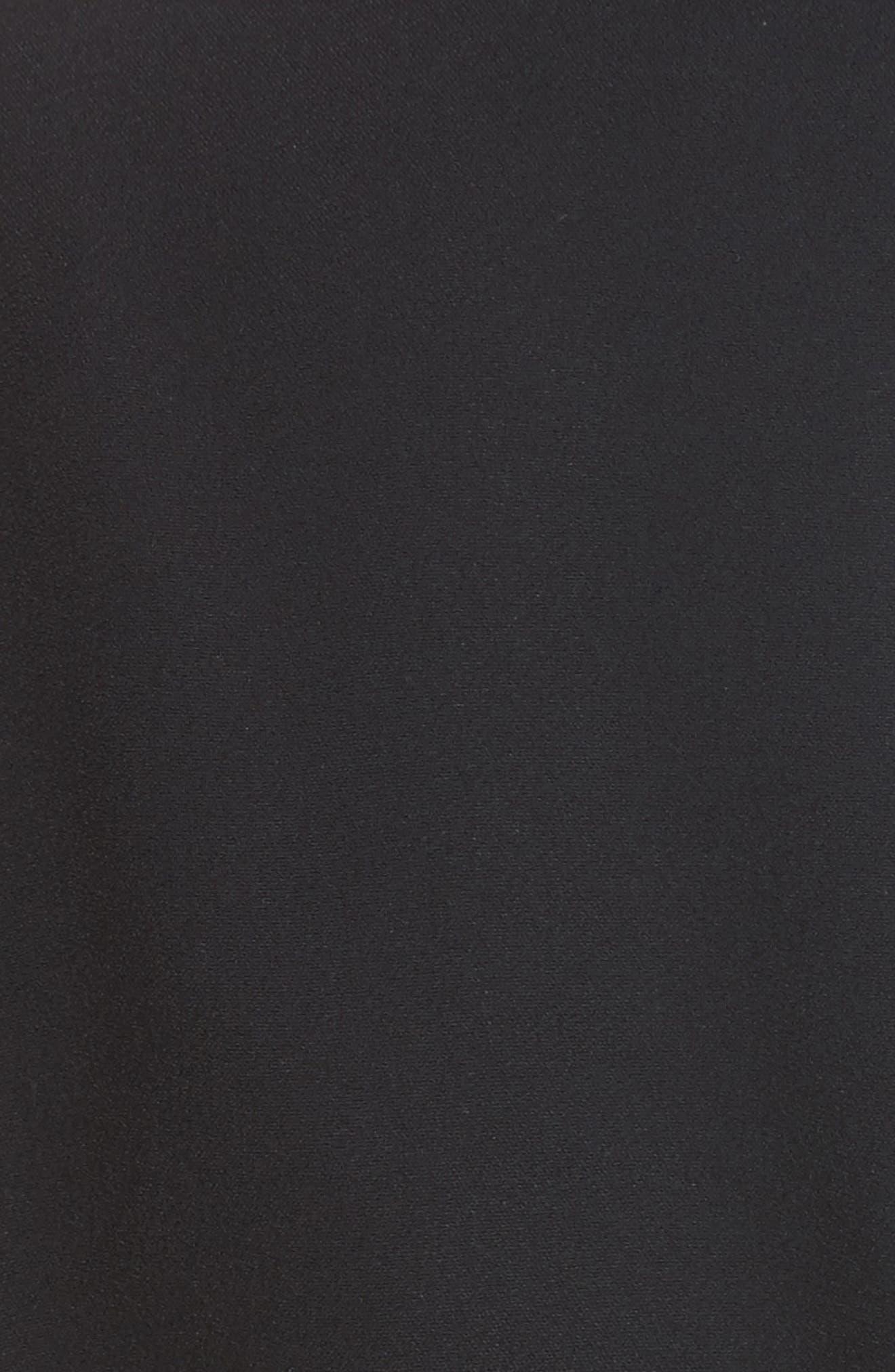 Multi Button Jacket,                             Alternate thumbnail 5, color,                             Black