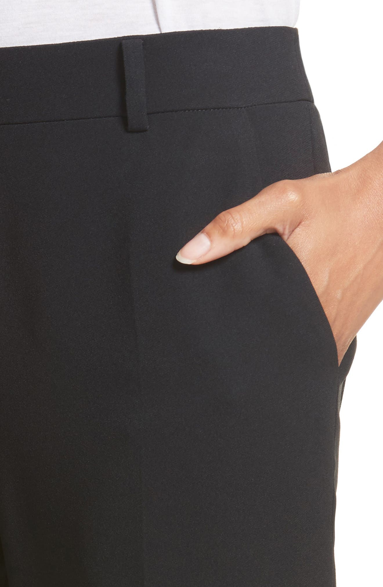 Alternate Image 4  - Alexander Wang Side Snap Bootcut Pants