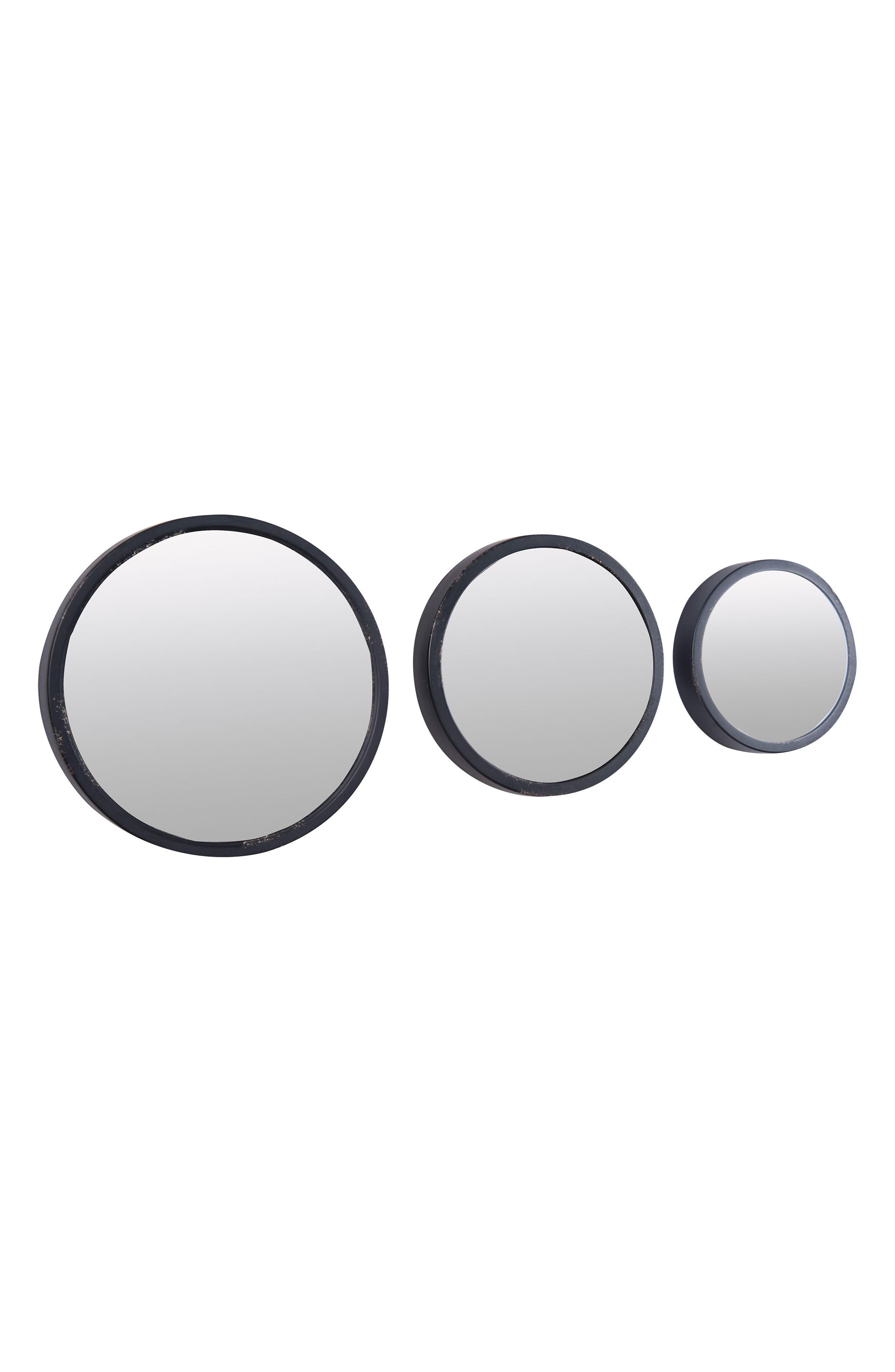 Set of 3 Round Mirrors,                             Main thumbnail 1, color,                             Glass
