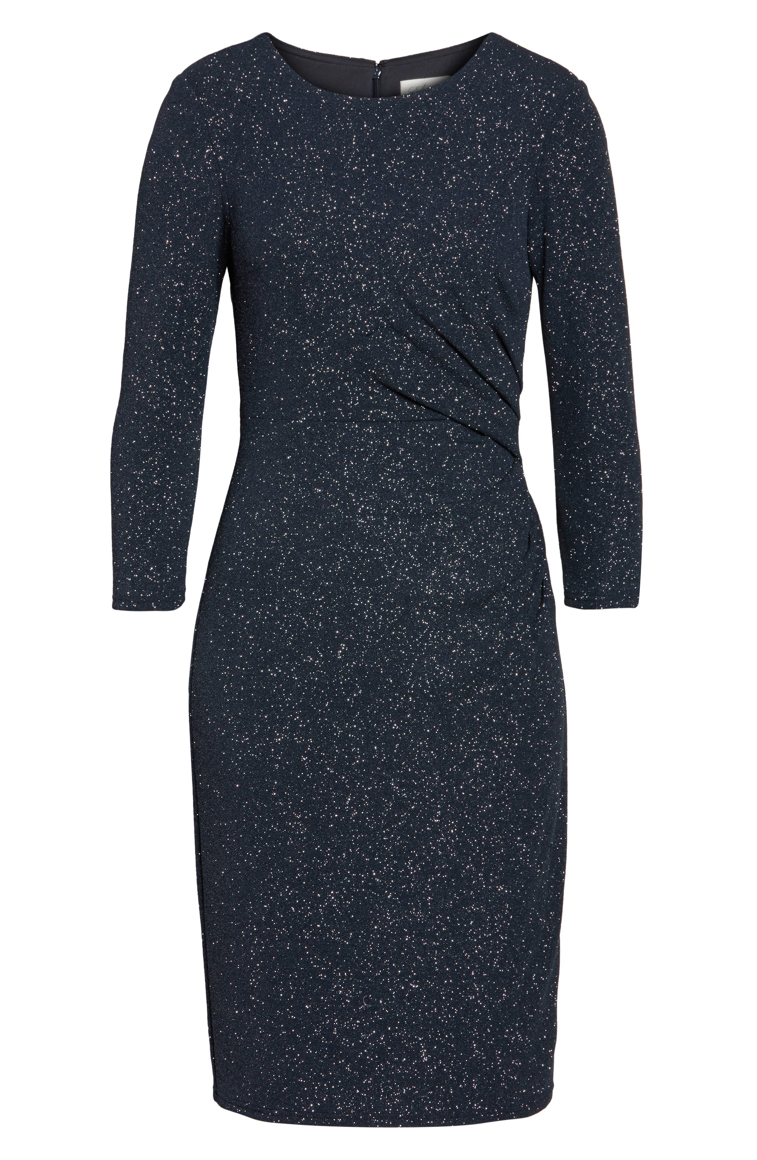 Alternate Image 6  - Eliza J Gathered Sheath Dress