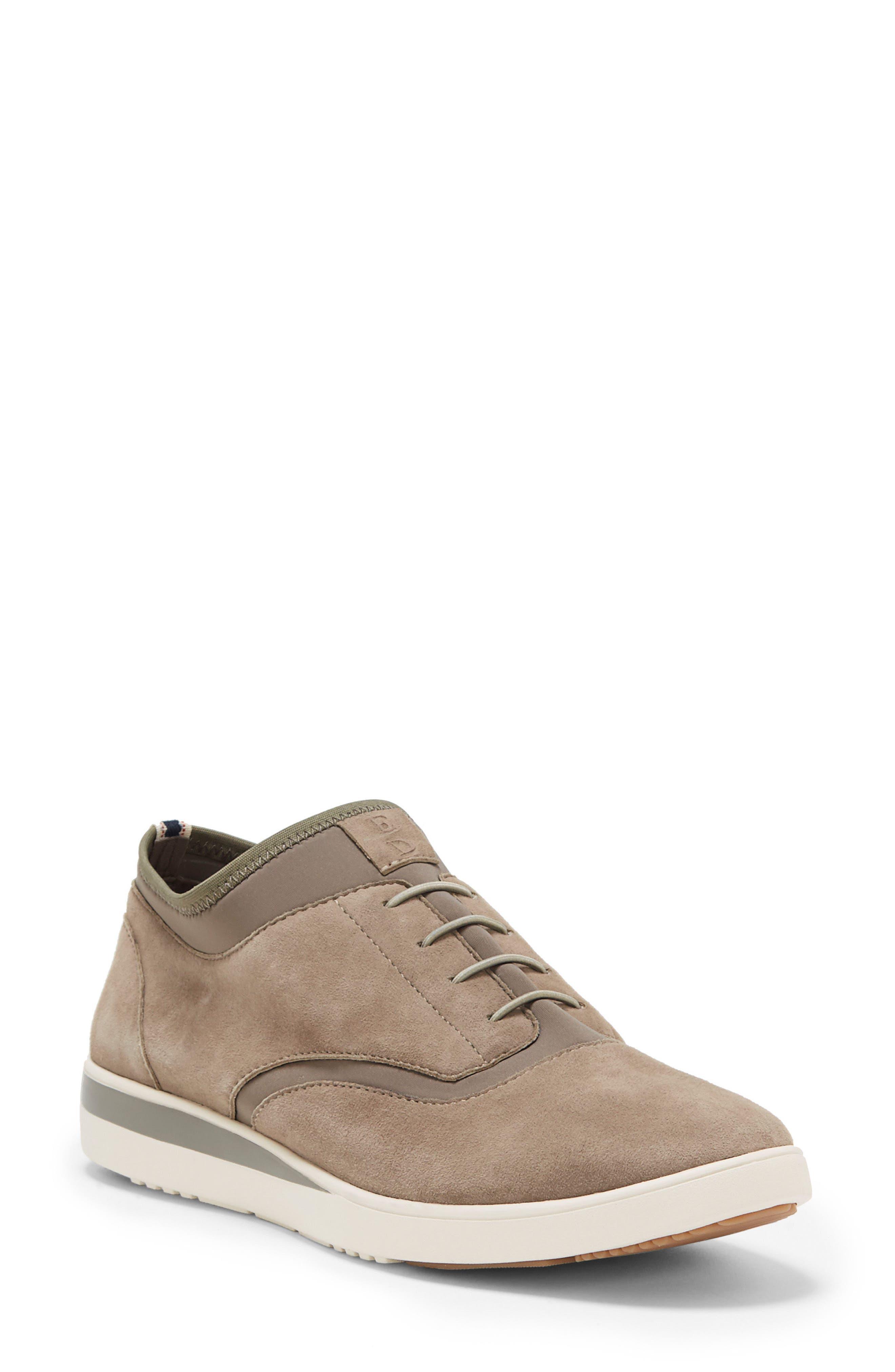 Atala Sneaker,                         Main,                         color, Stone Suede