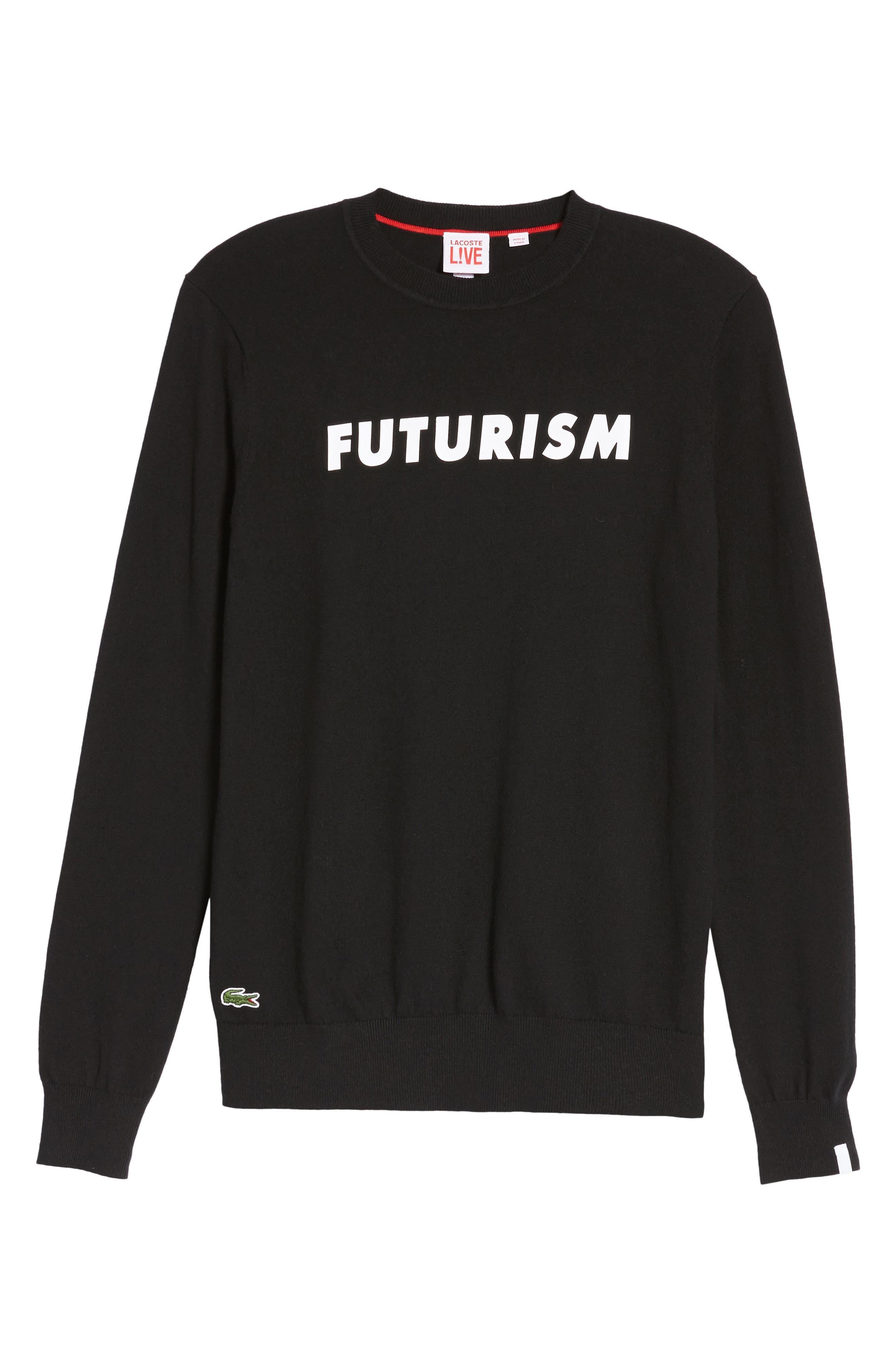 Alternate Image 6  - Lacoste Futurism Graphic Sweater