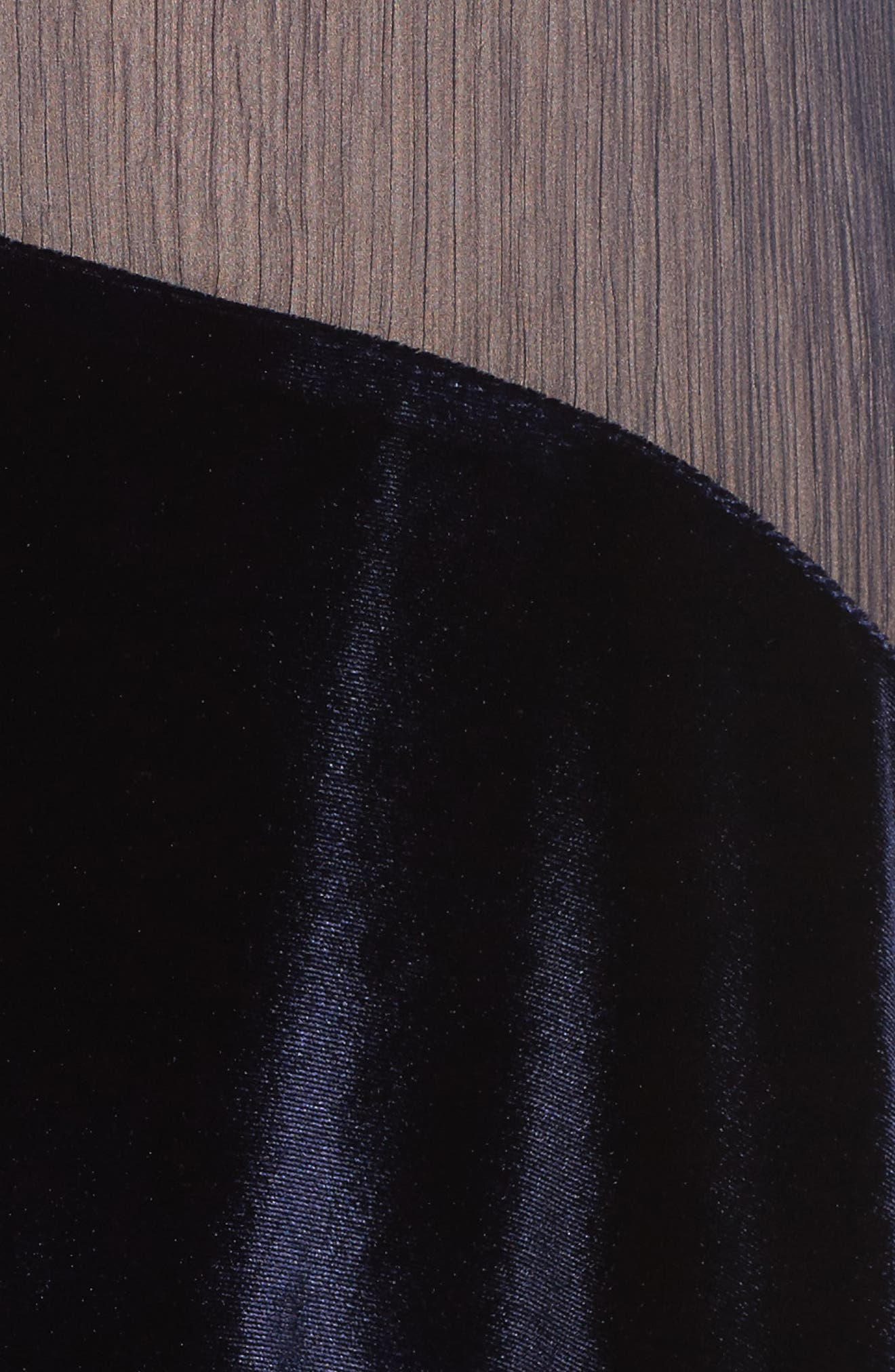 Alternate Image 5  - Foxiedox Velvet Stripe Midi Dress