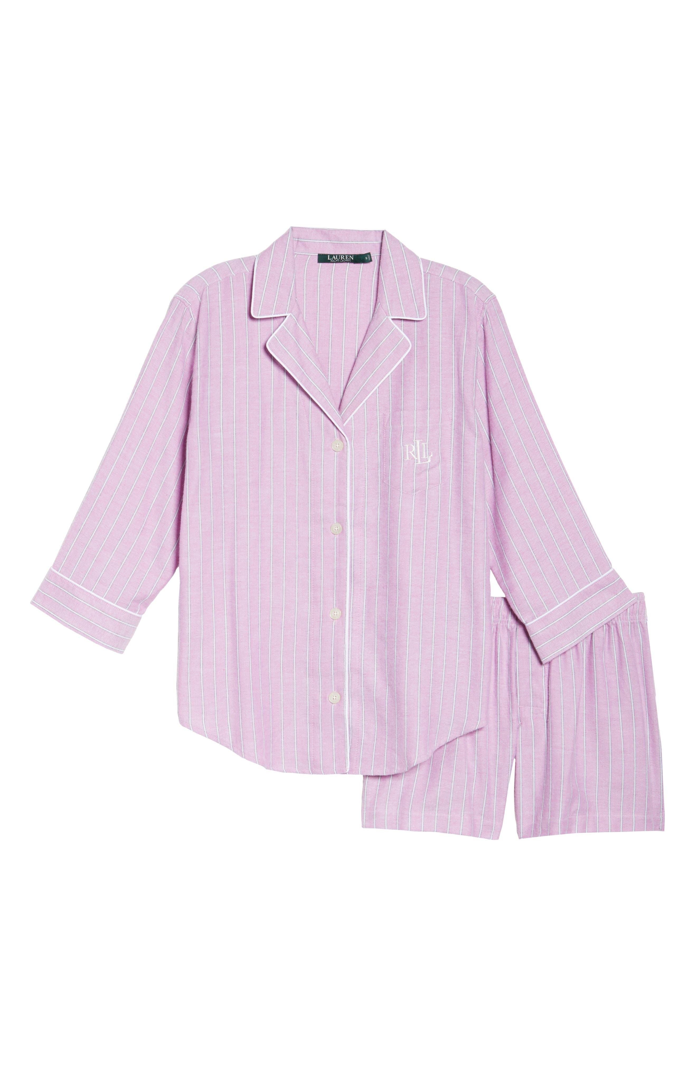 Alternate Image 4  - Lauren Ralph Lauren Short Pajamas