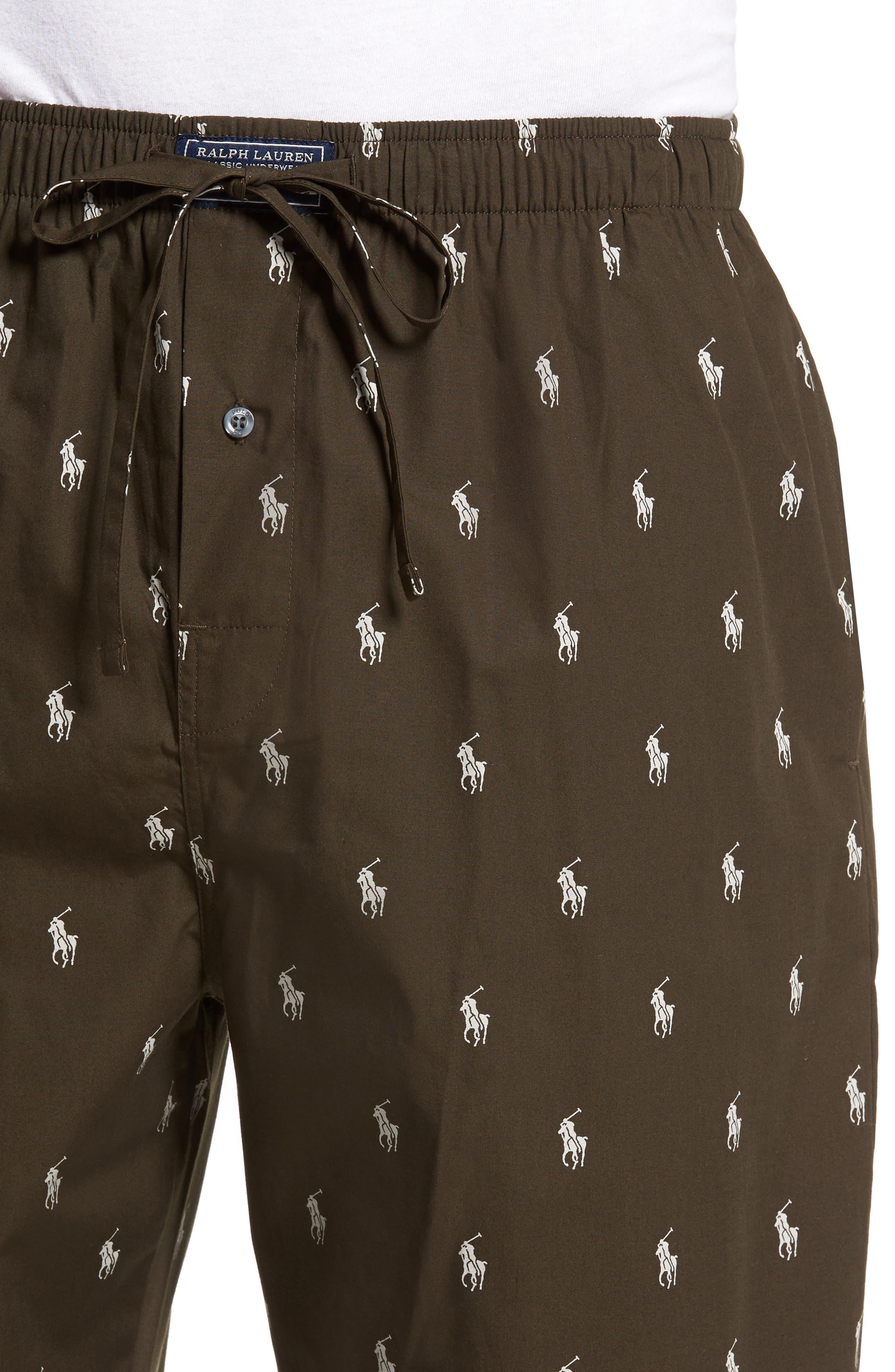 Alternate Image 4  - Polo Ralph Lauren Classic Lounge Pants