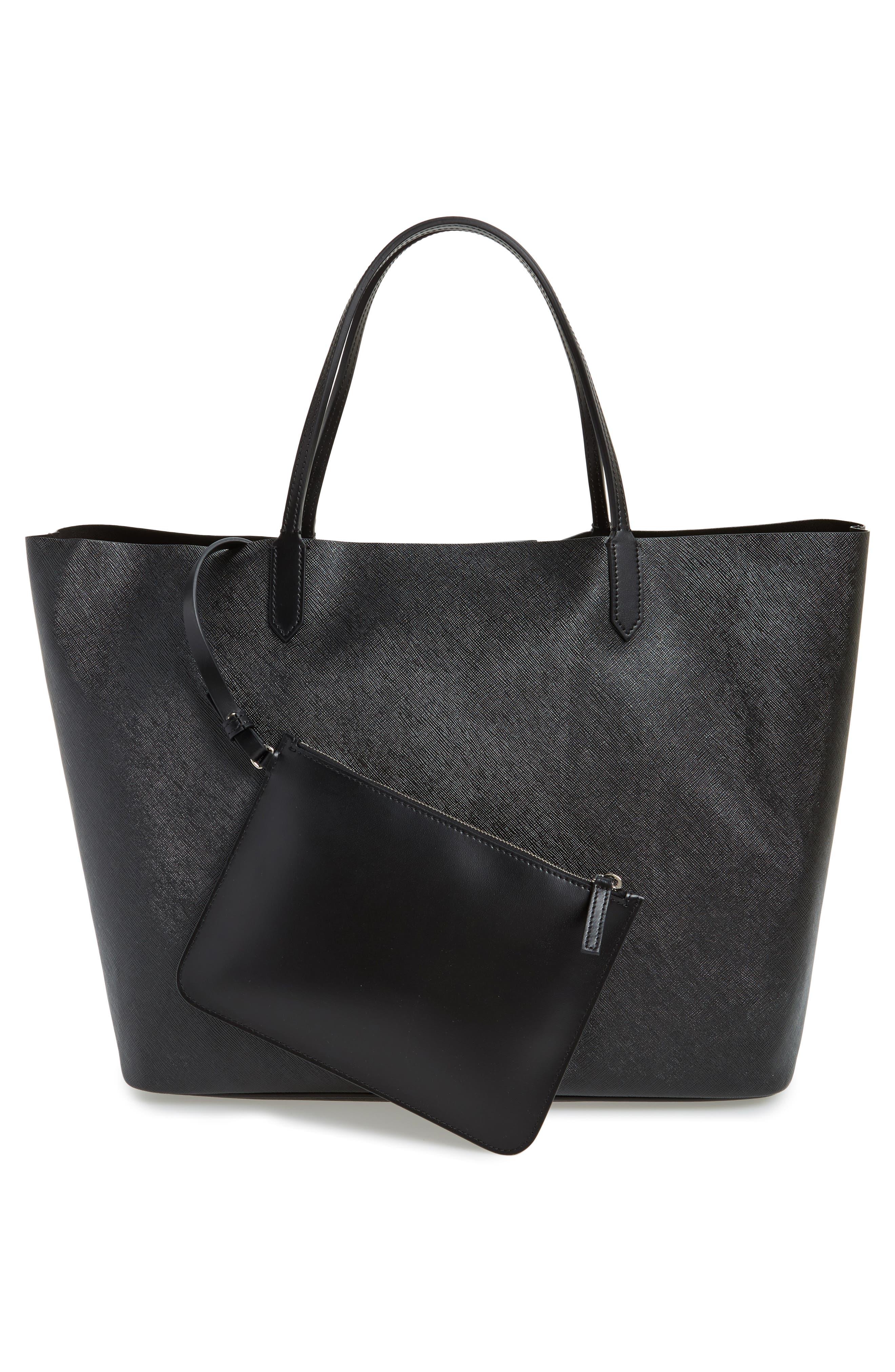 Alternate Image 2  - Givenchy Antigona Black Jaguar Print Coated Canvas Shopper