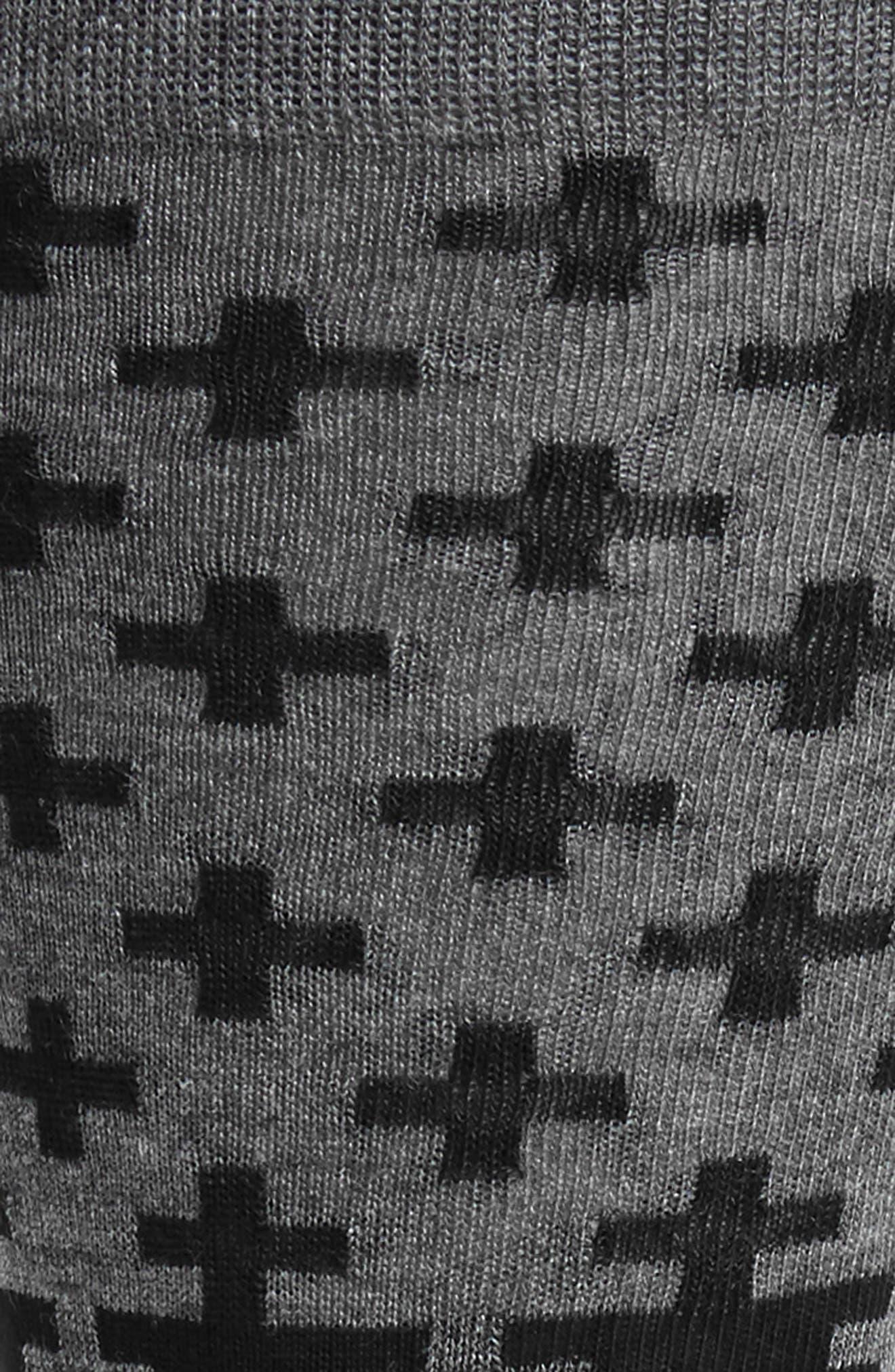 Alternate Image 2  - Calibrate Cross Socks (3 for $30)