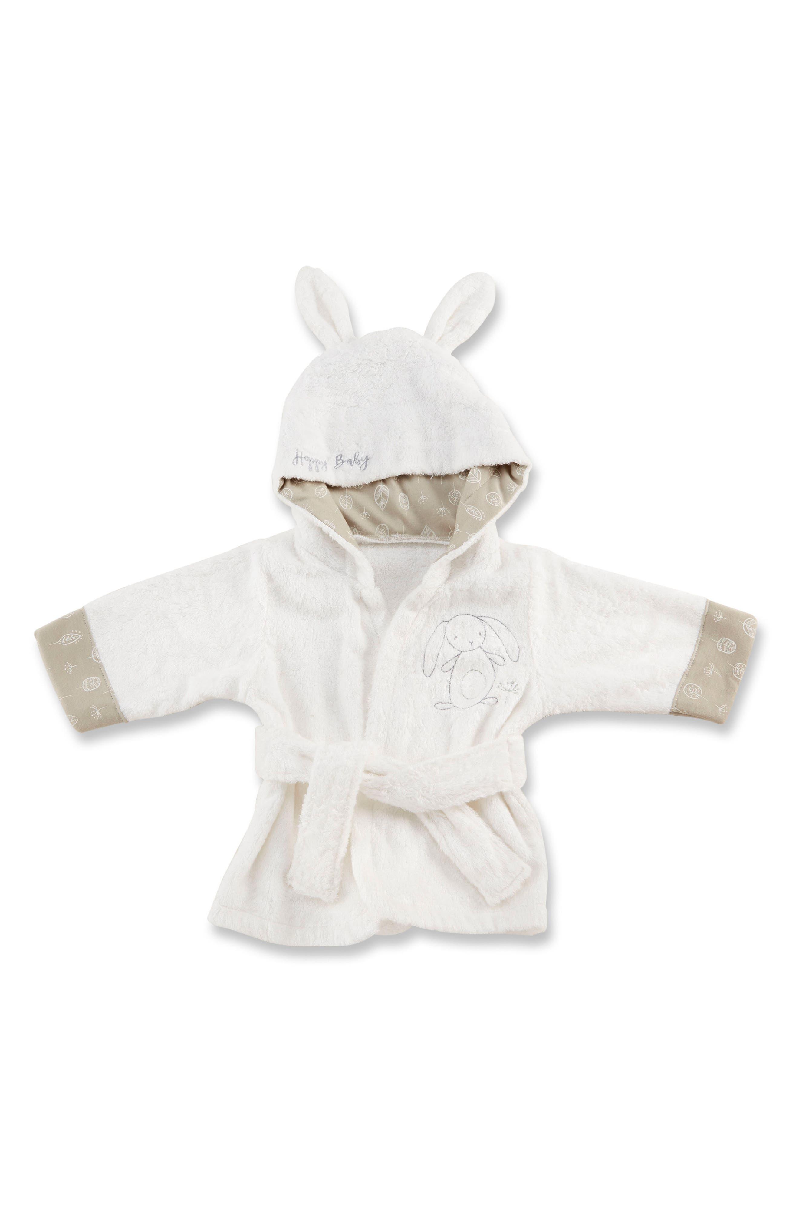 Main Image - Baby Aspen Nature Baby Bunny Bathrobe (Baby)