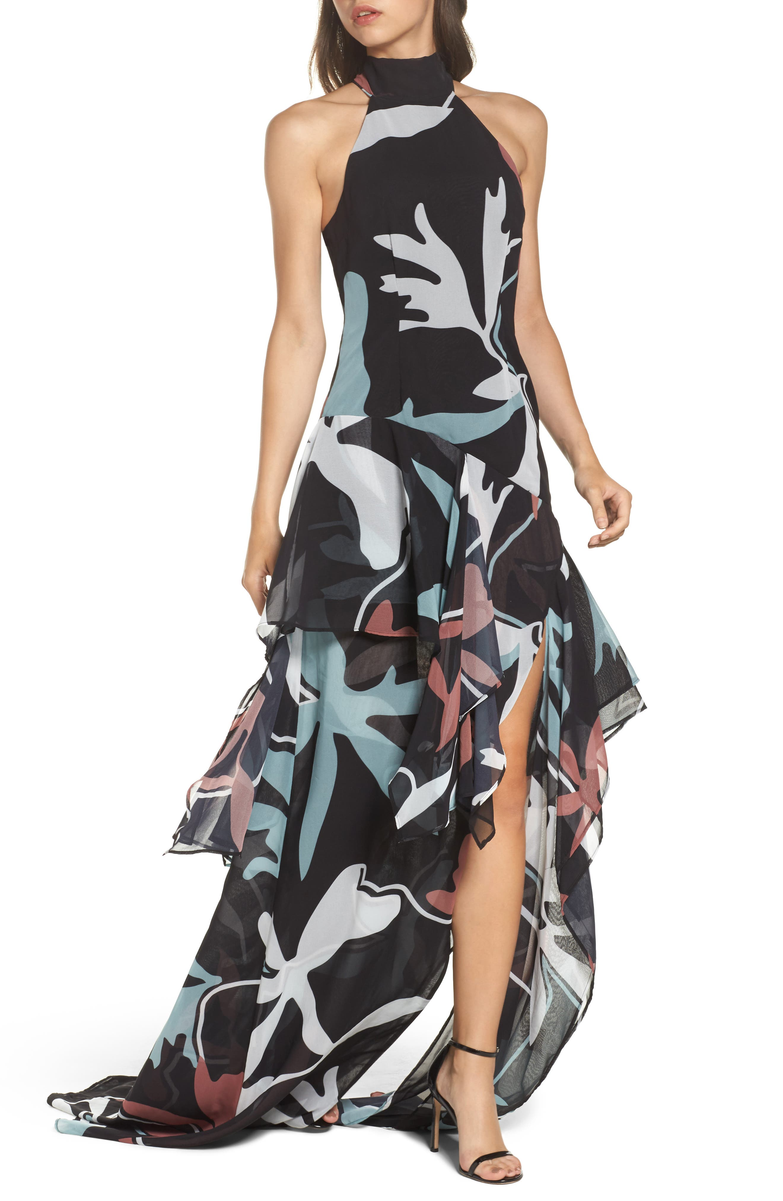 Take a Hold Gown,                             Main thumbnail 1, color,                             Black Aspect