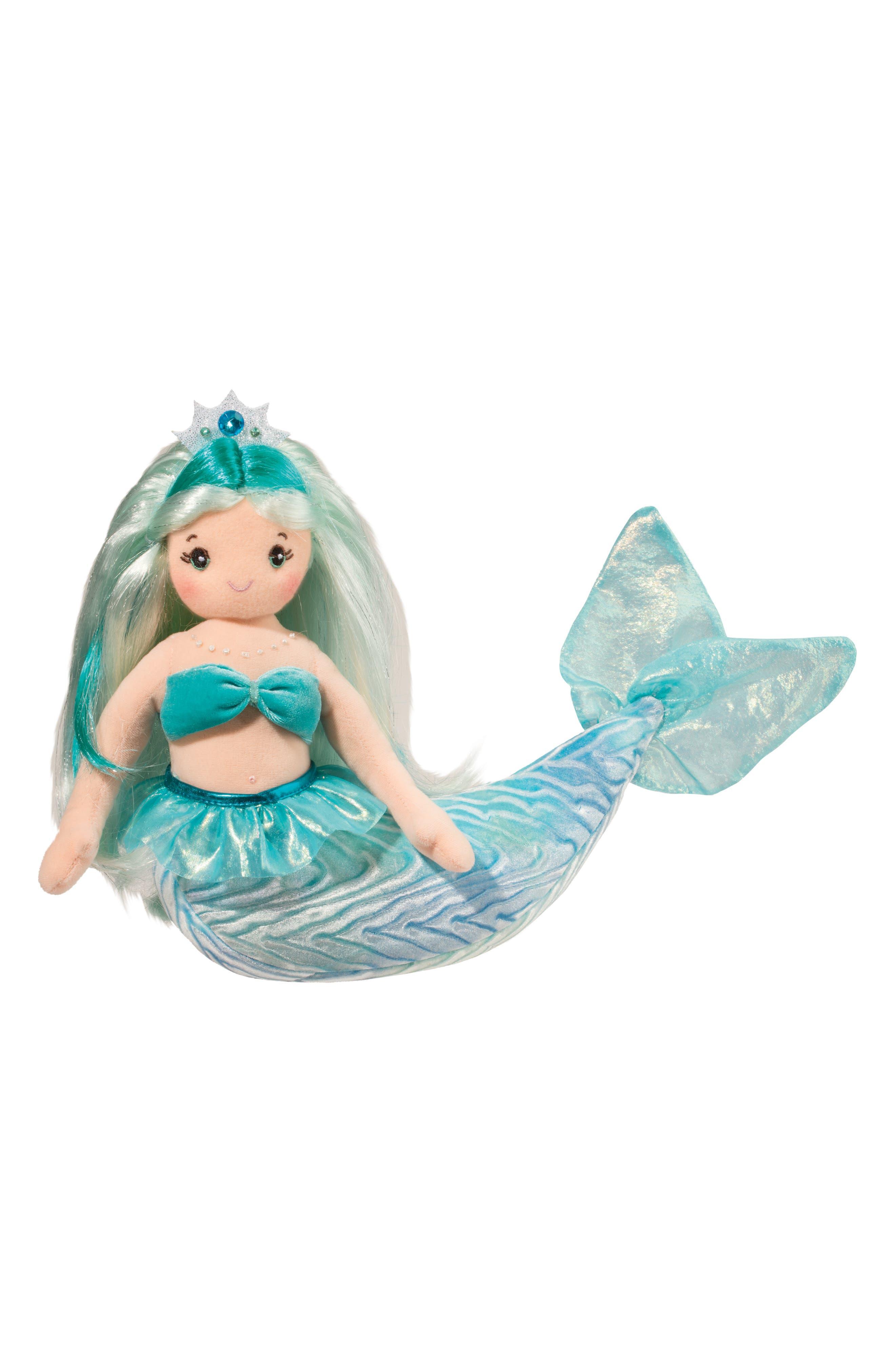 Douglas Ciara - Large Aqua Mermaid Doll