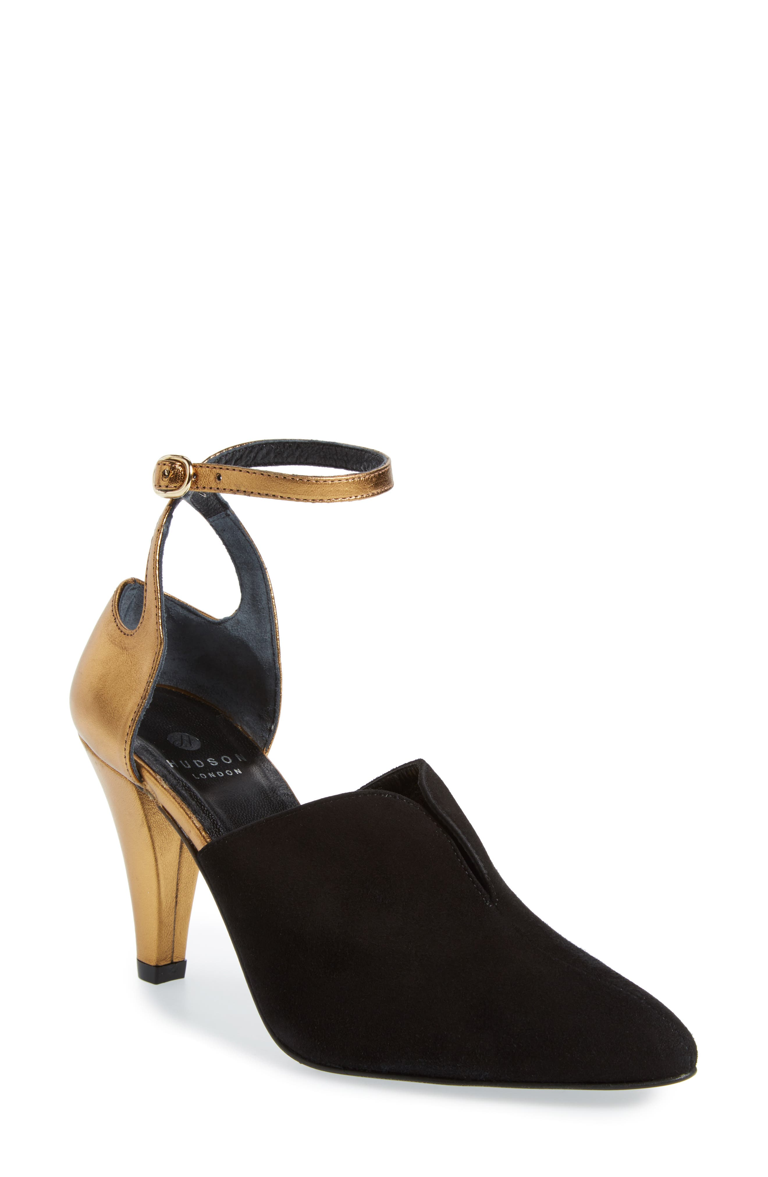 Main Image - Hudson London Noreen Ankle Wrap Pump (Women)
