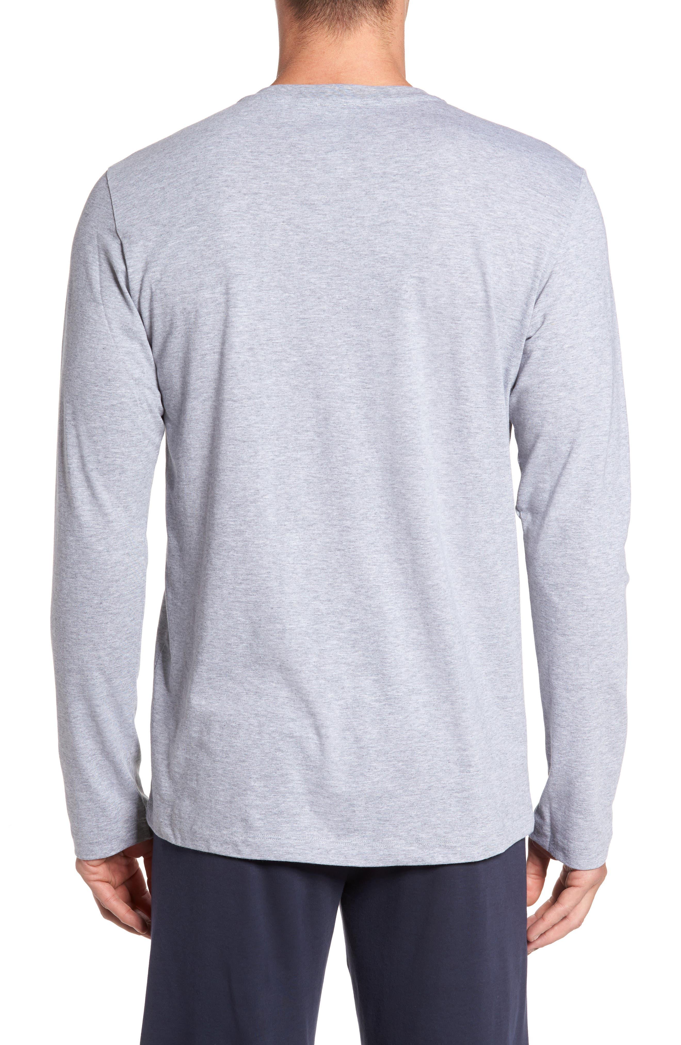 Alternate Image 2  - Hanro Living Long Sleeve T-Shirt