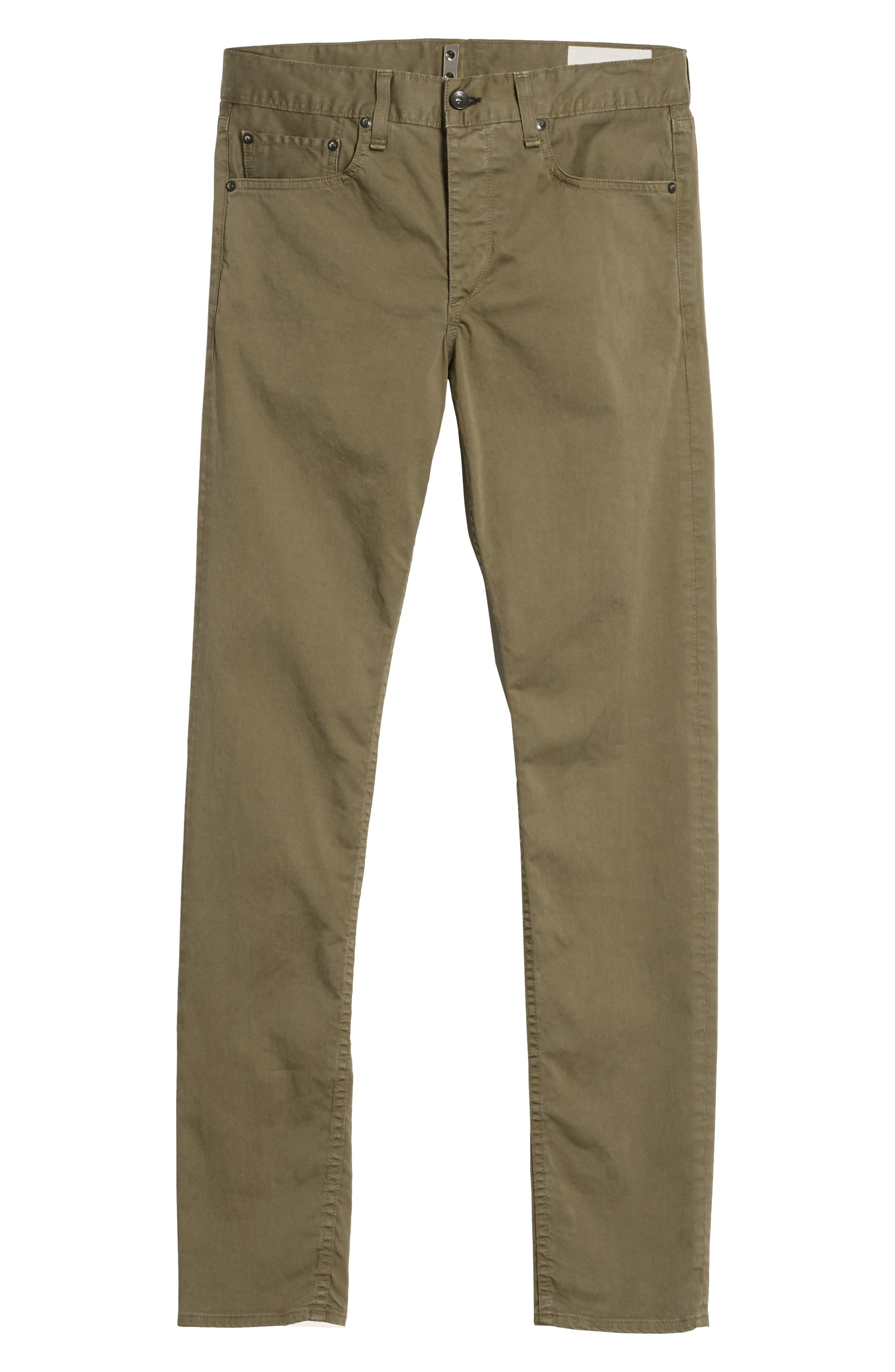 Alternate Image 6  - rag & bone Fit 1 Twill Skinny Fit Pants
