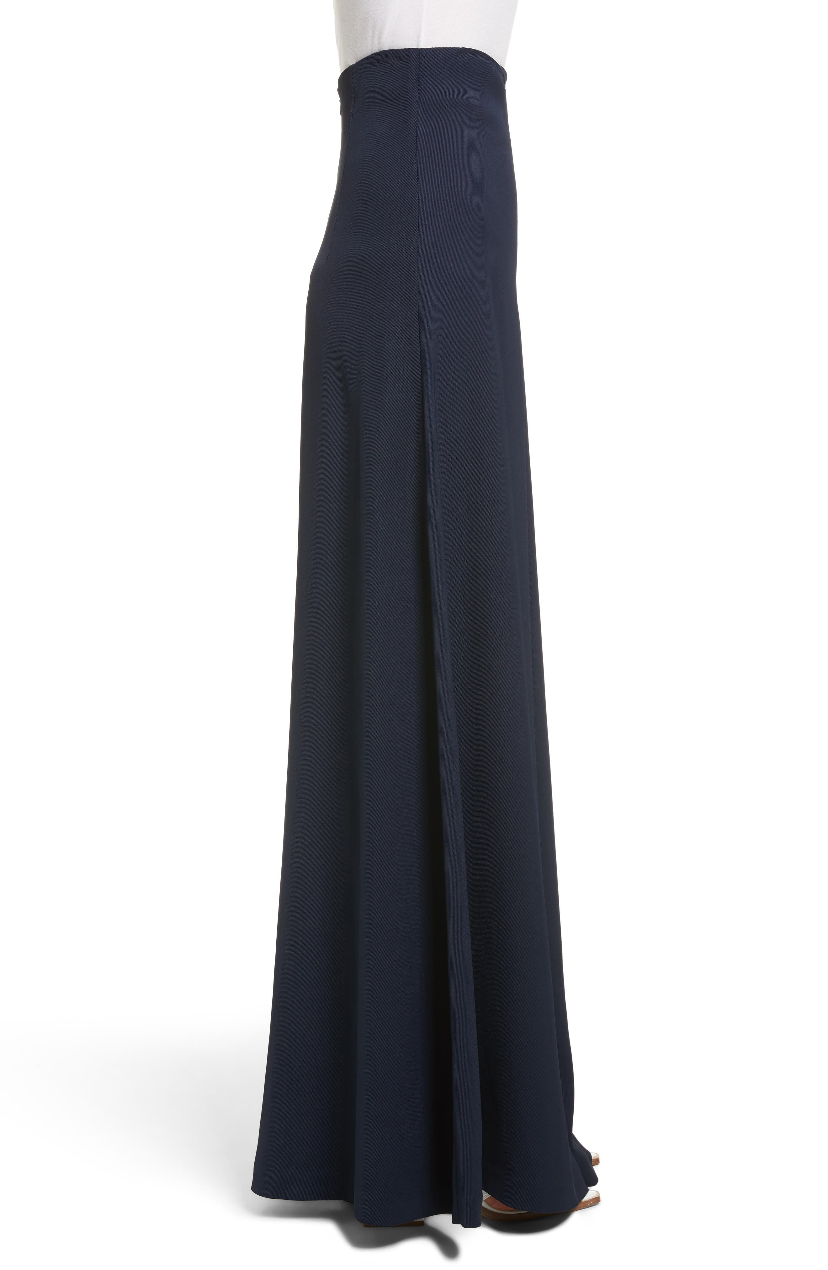 Wide Leg Trousers,                             Alternate thumbnail 3, color,                             Navy