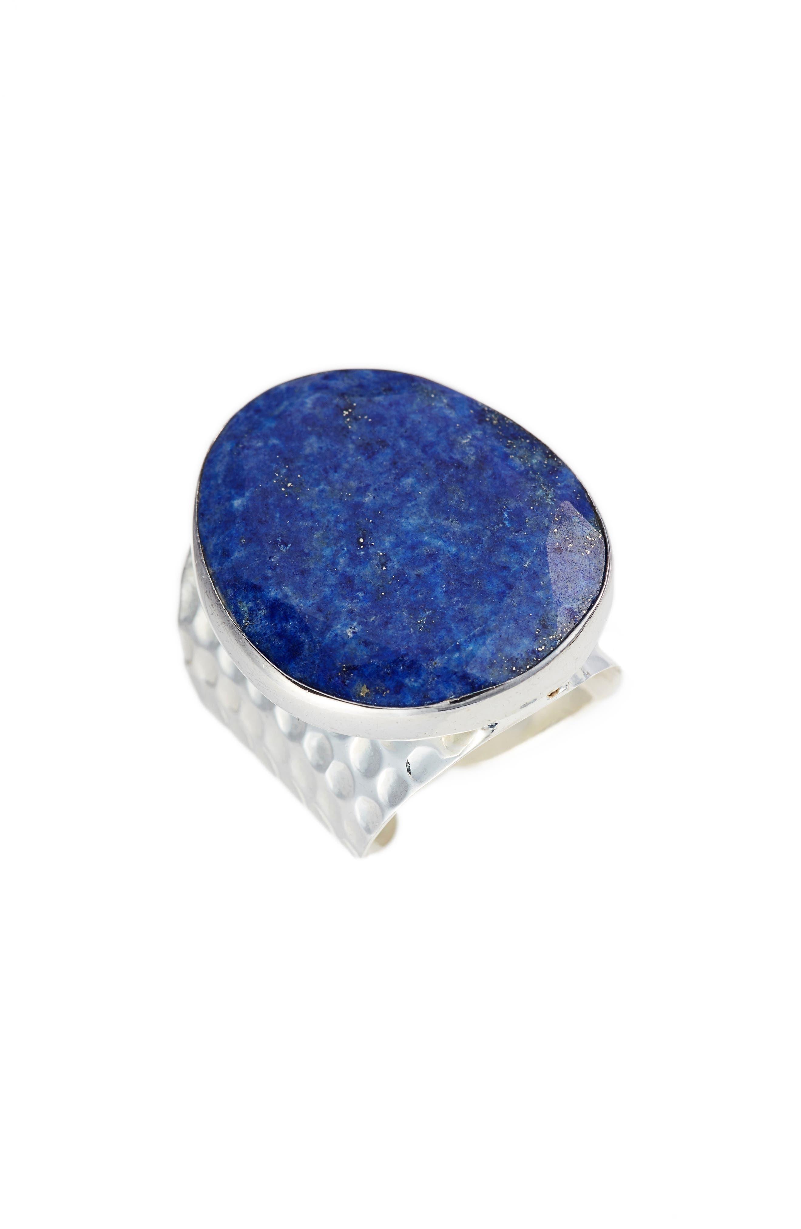 Runar Lapis Ring,                         Main,                         color, Blue