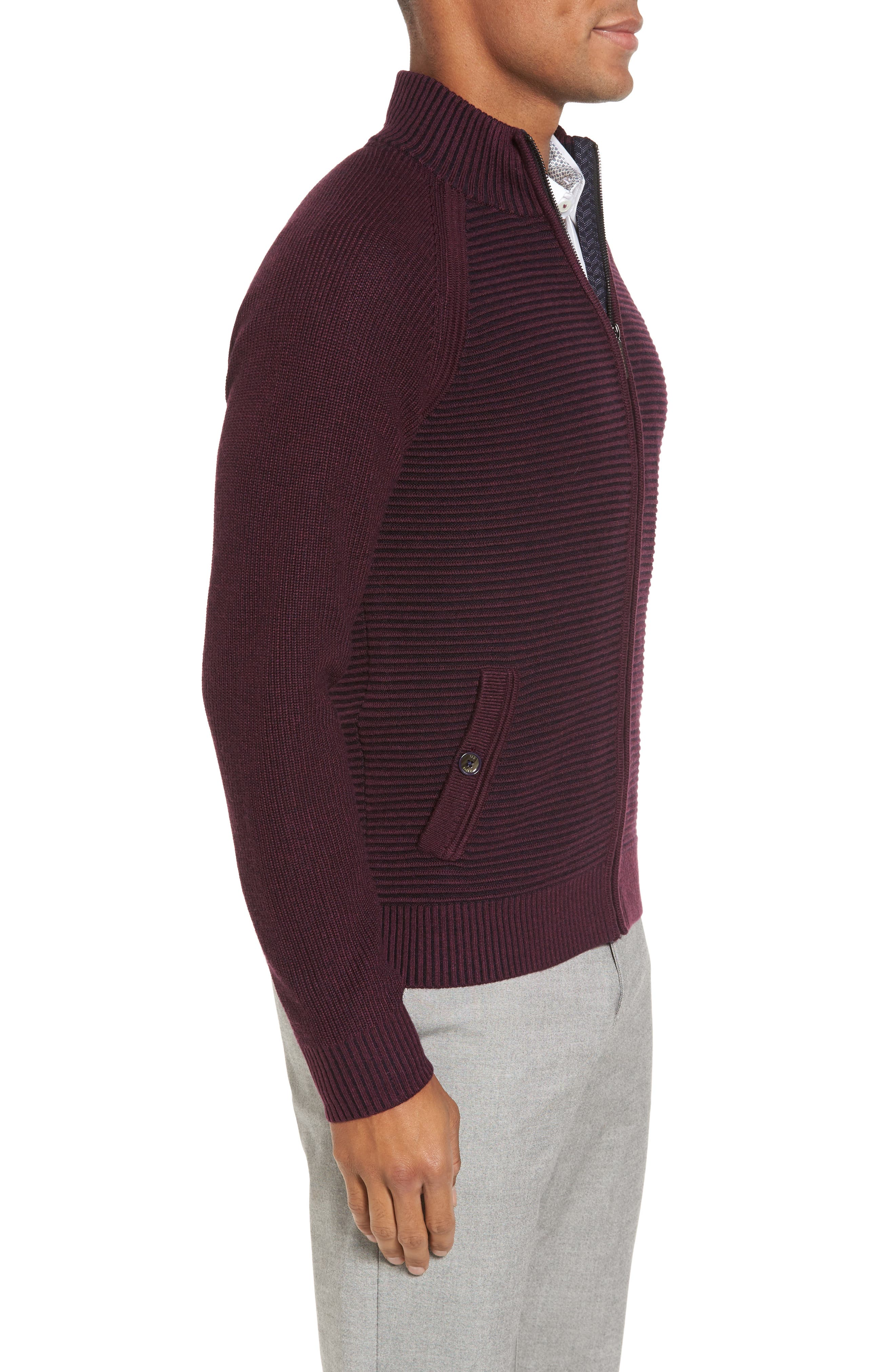 Alternate Image 3  - Ted Baker London Modern Slim Fit Raglan Sweater