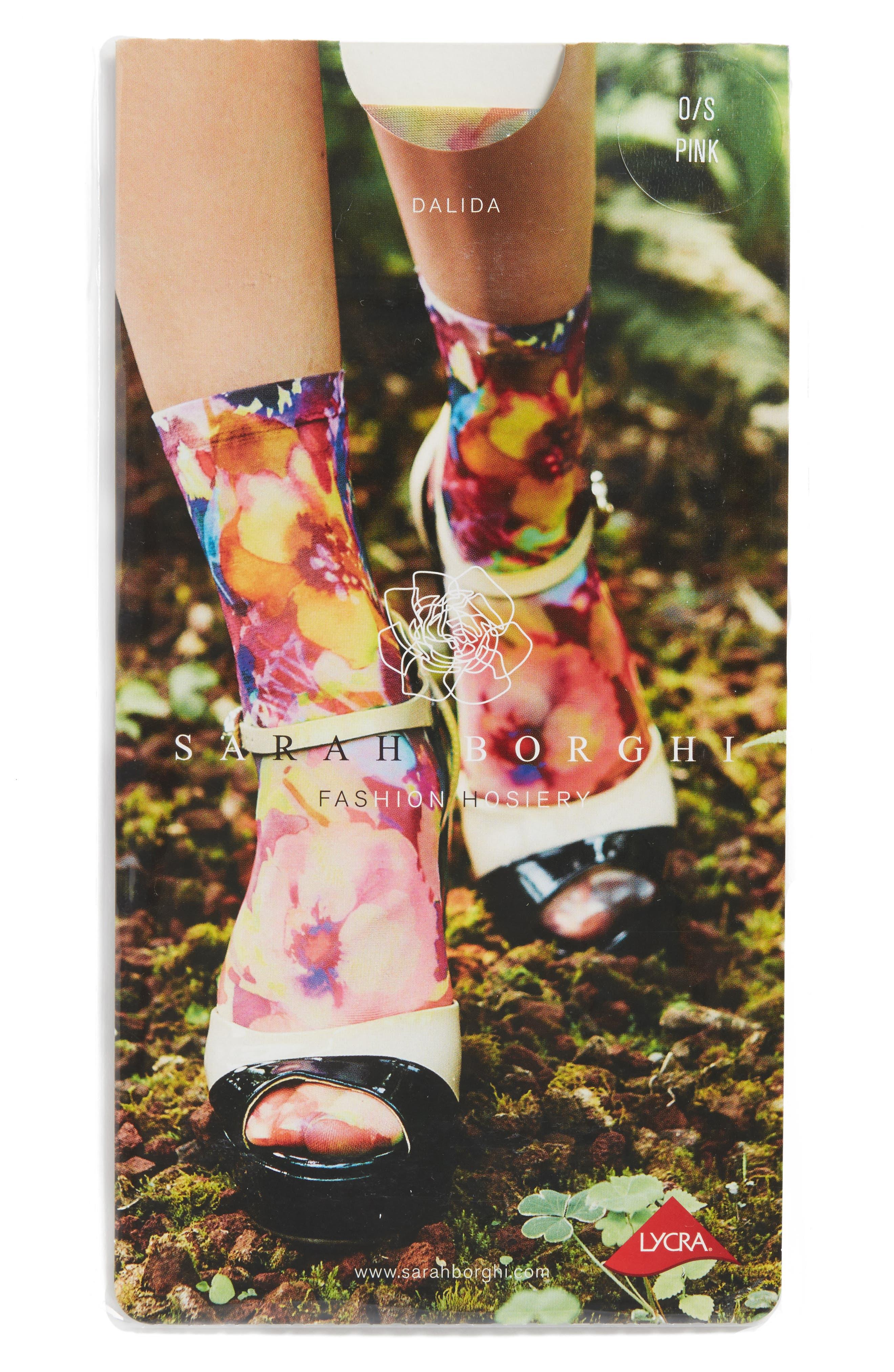 Alternate Image 2  - Sarah Borghi Dalida Ankle Socks