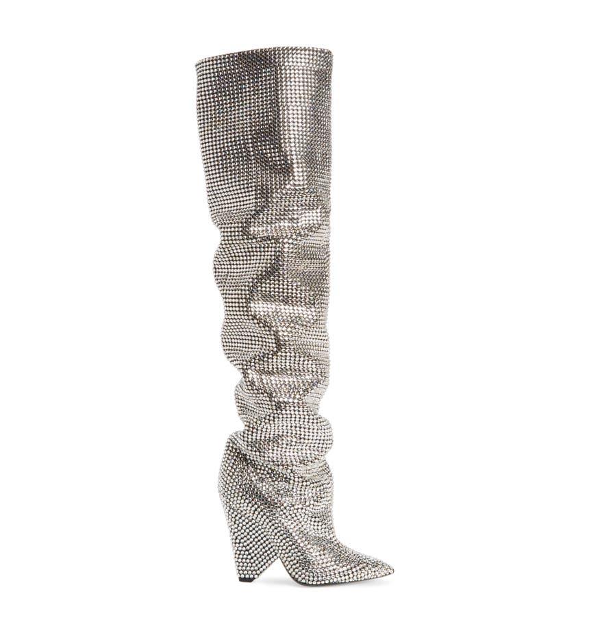 Saint laurent niki crystal embellished boot women nordstrom floridaeventfo Images