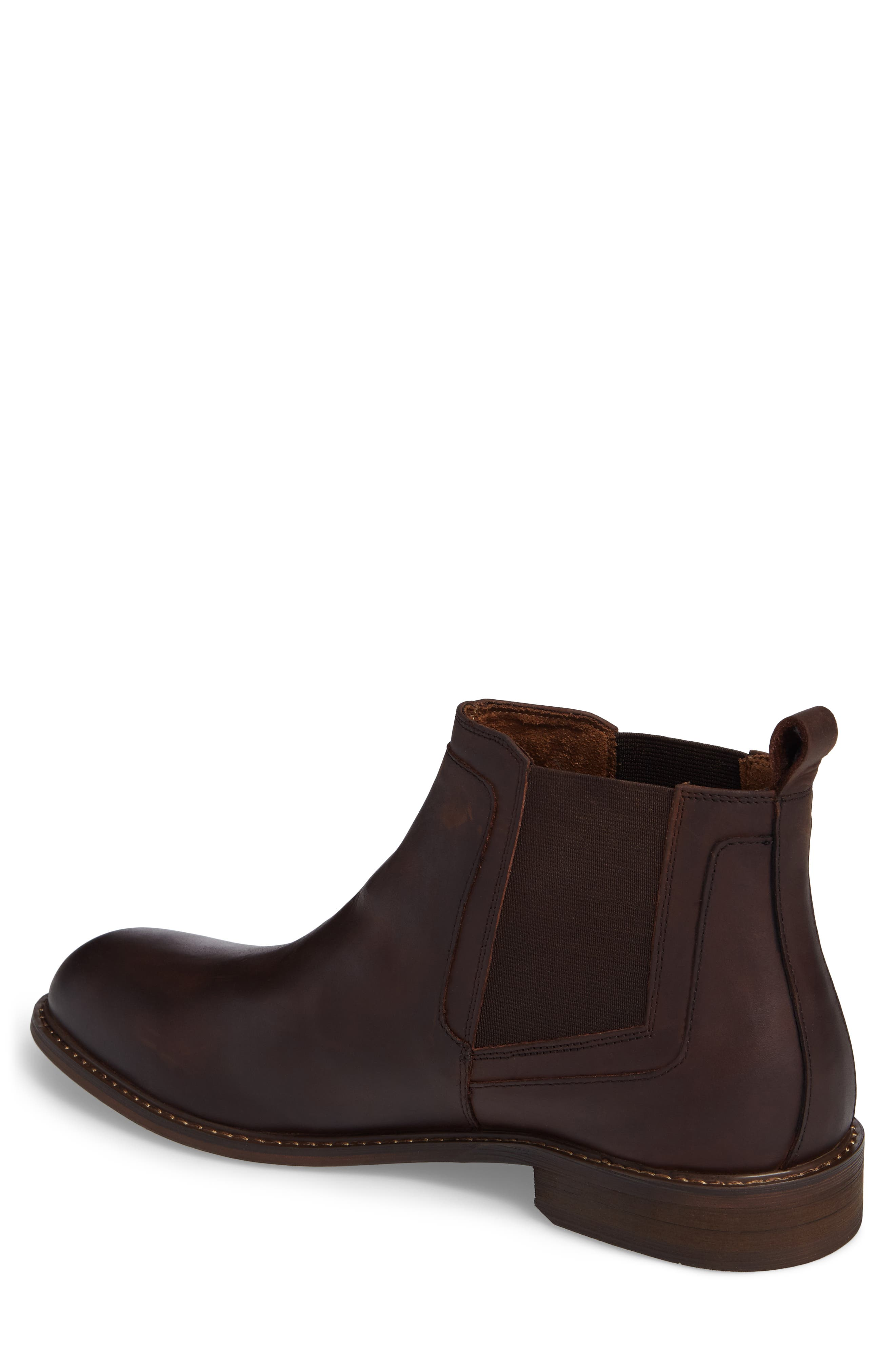 Chlesea Boot,                             Alternate thumbnail 2, color,                             Brown Leather